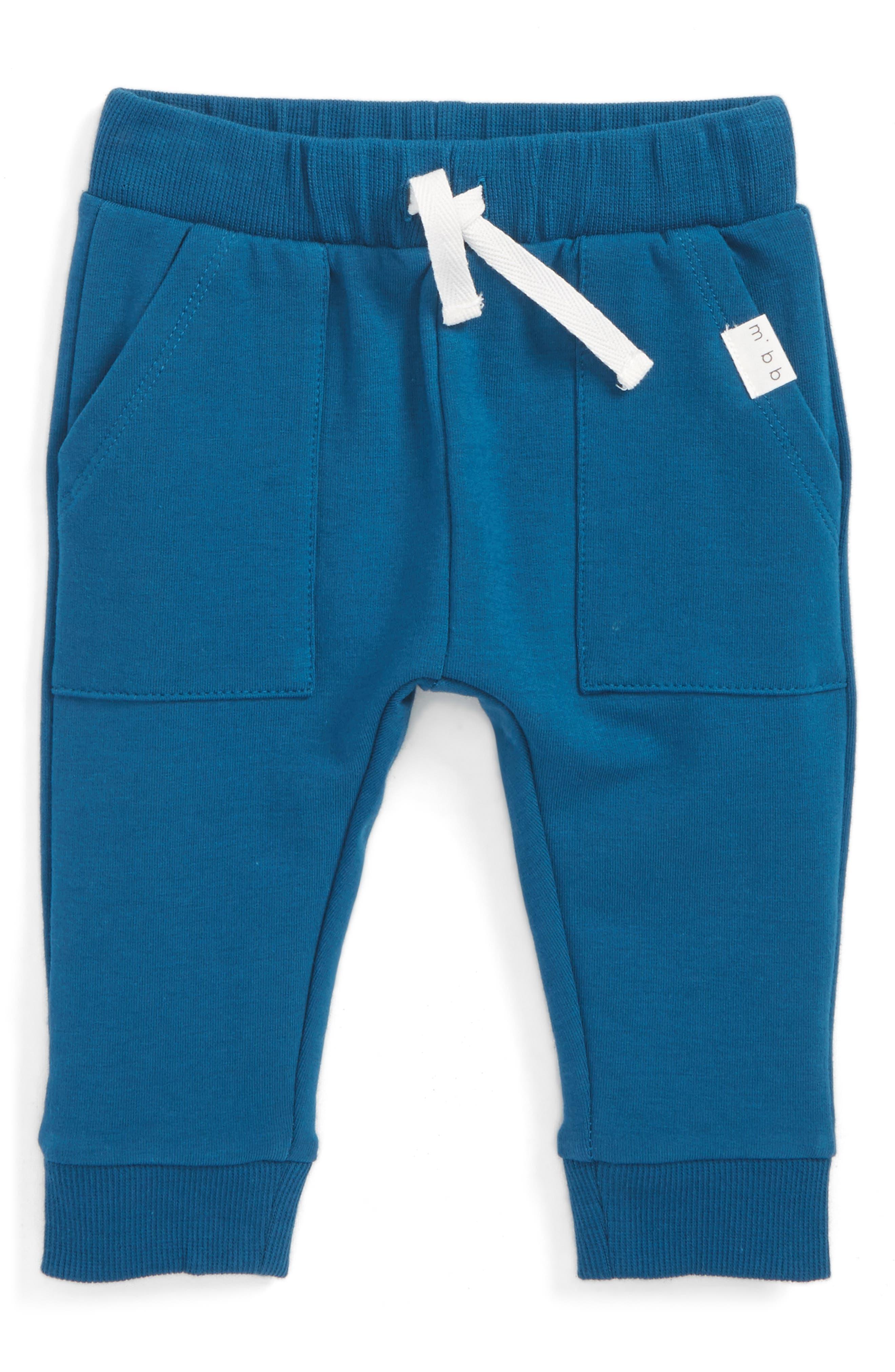 Main Image - Miles Baby Knit Jogger Pants (Baby Boys)