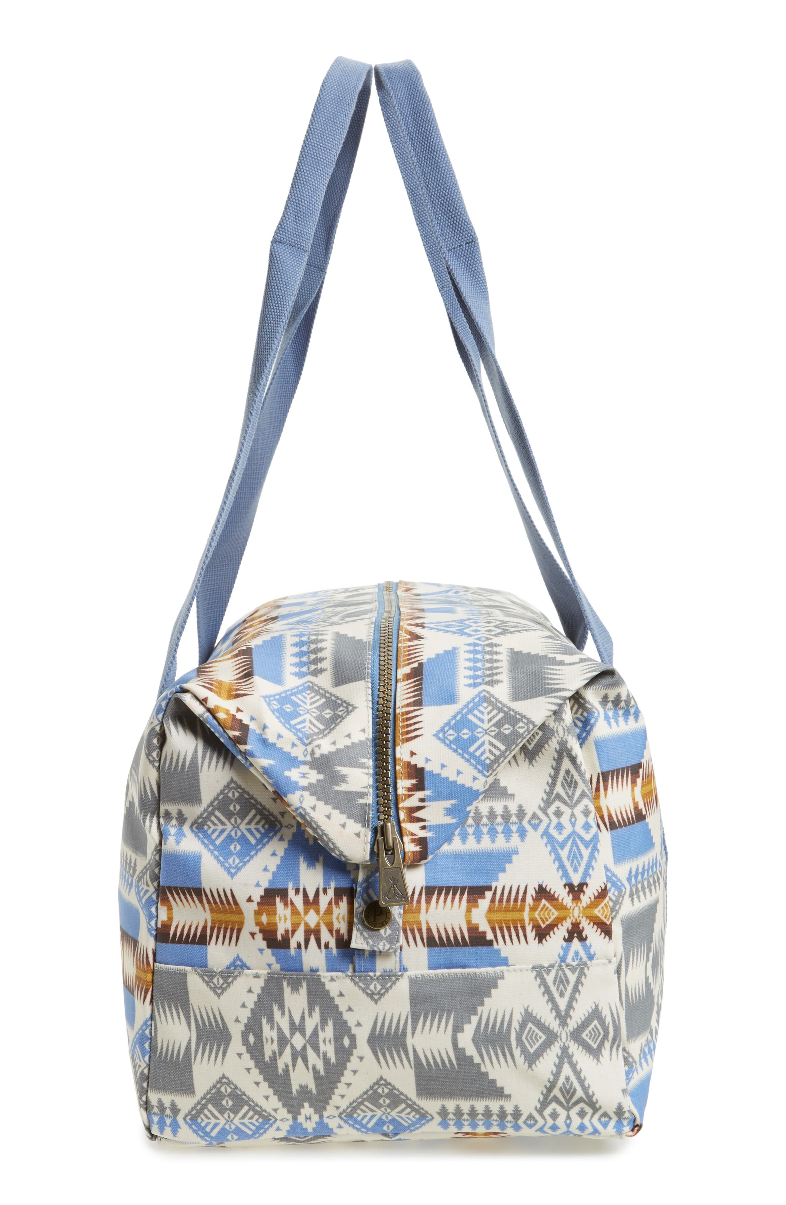 Canopy Duffel Bag,                             Alternate thumbnail 5, color,                             Silver Bark
