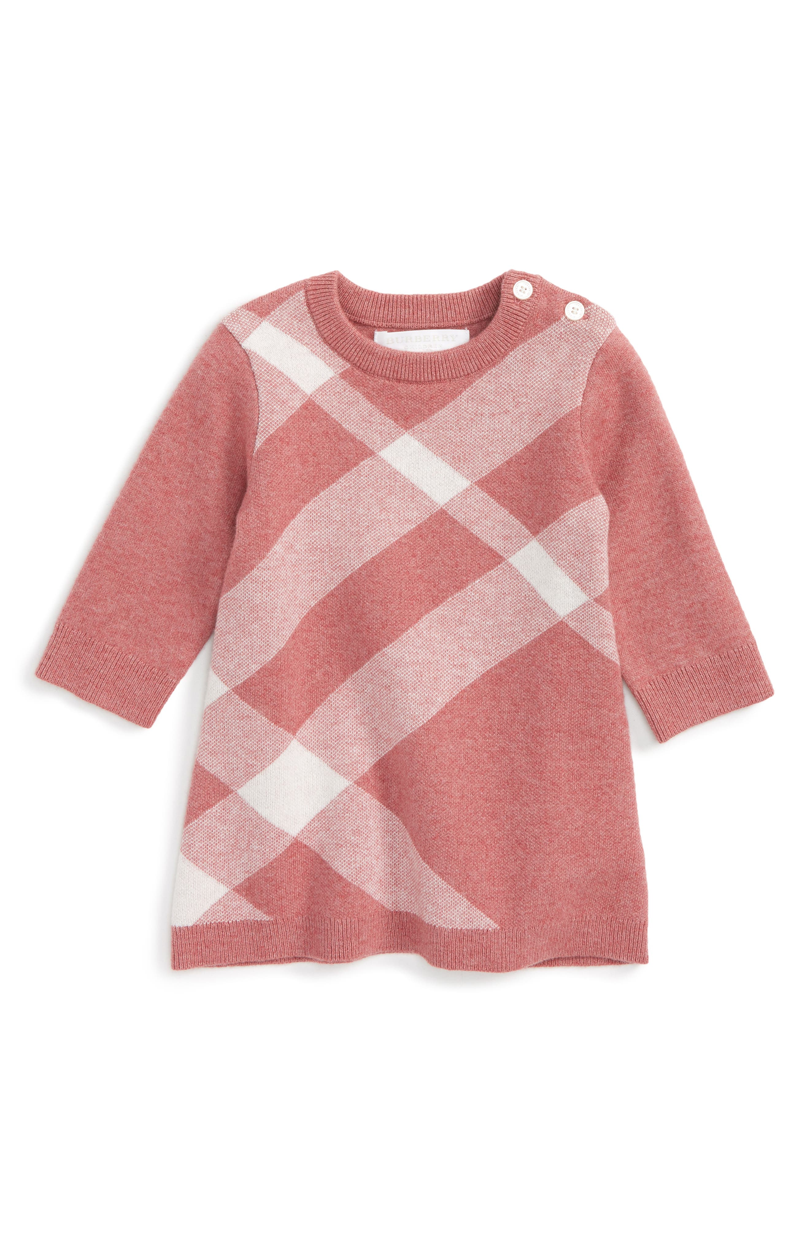 Burberry Check Dress (Baby Girls)