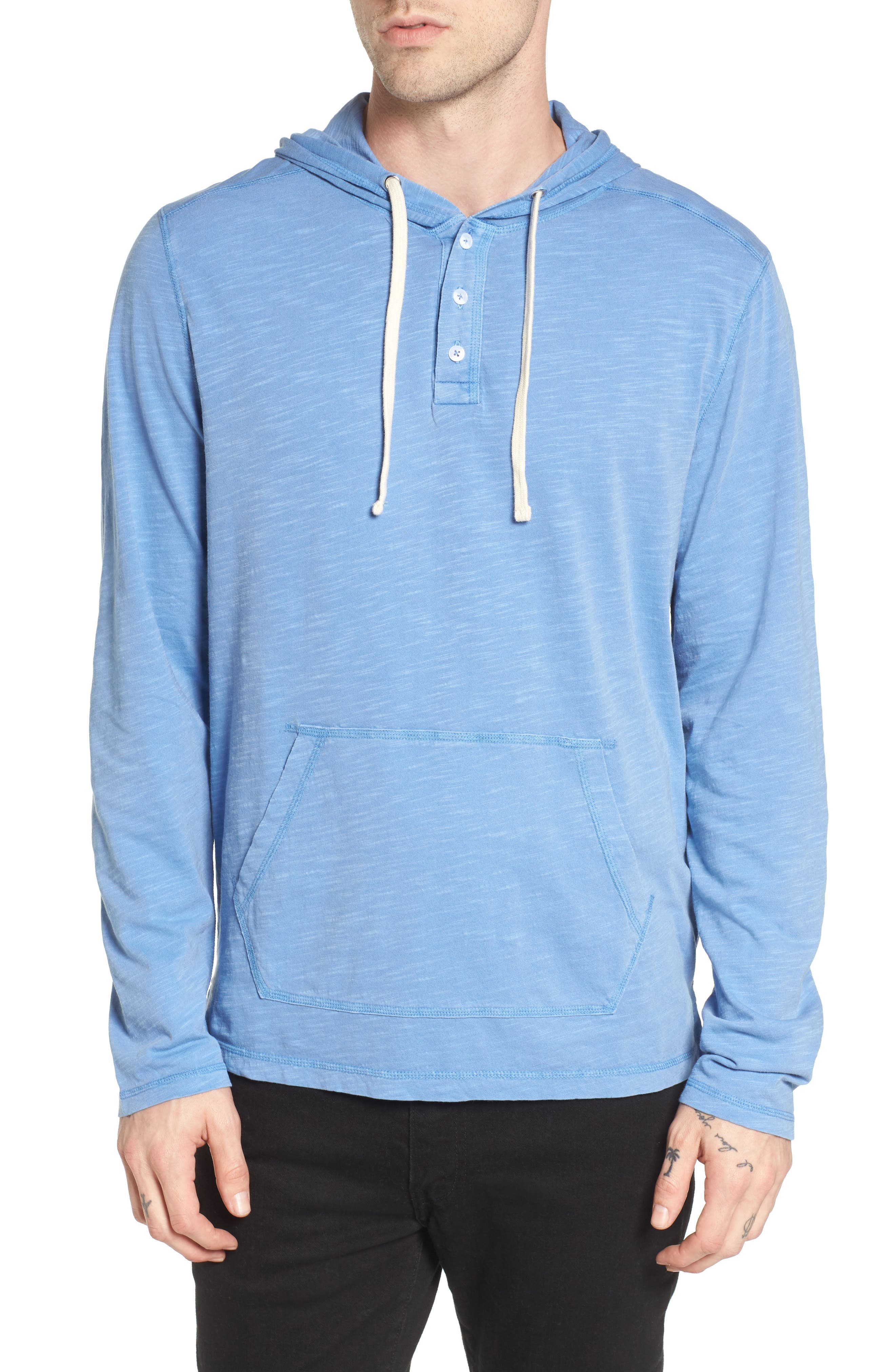Main Image - The Rail Henley Hoodie (2 for $50)
