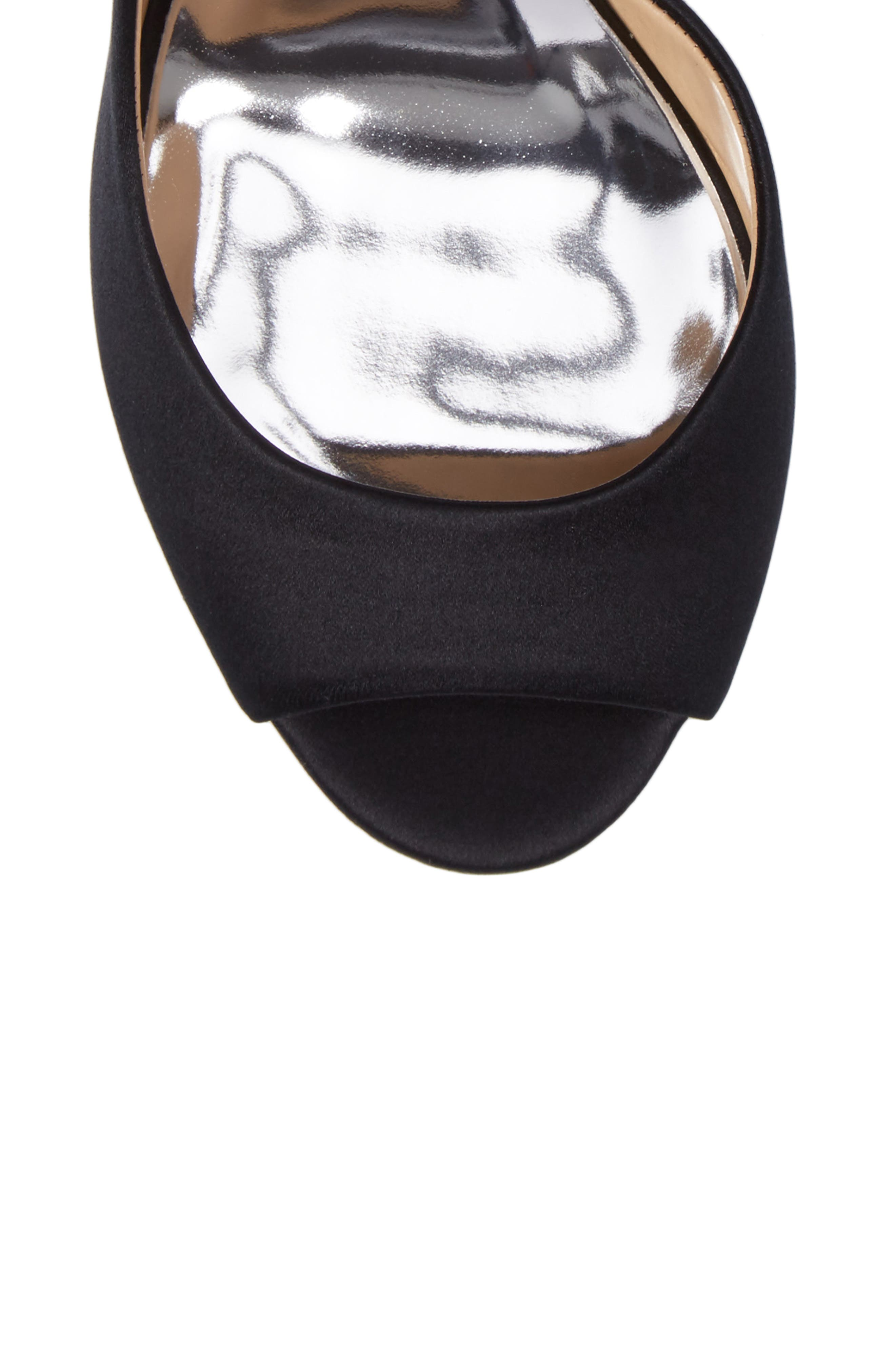 Alternate Image 5  - Badgley Mischka Meagan Embellished Peep Toe Wedge (Women)