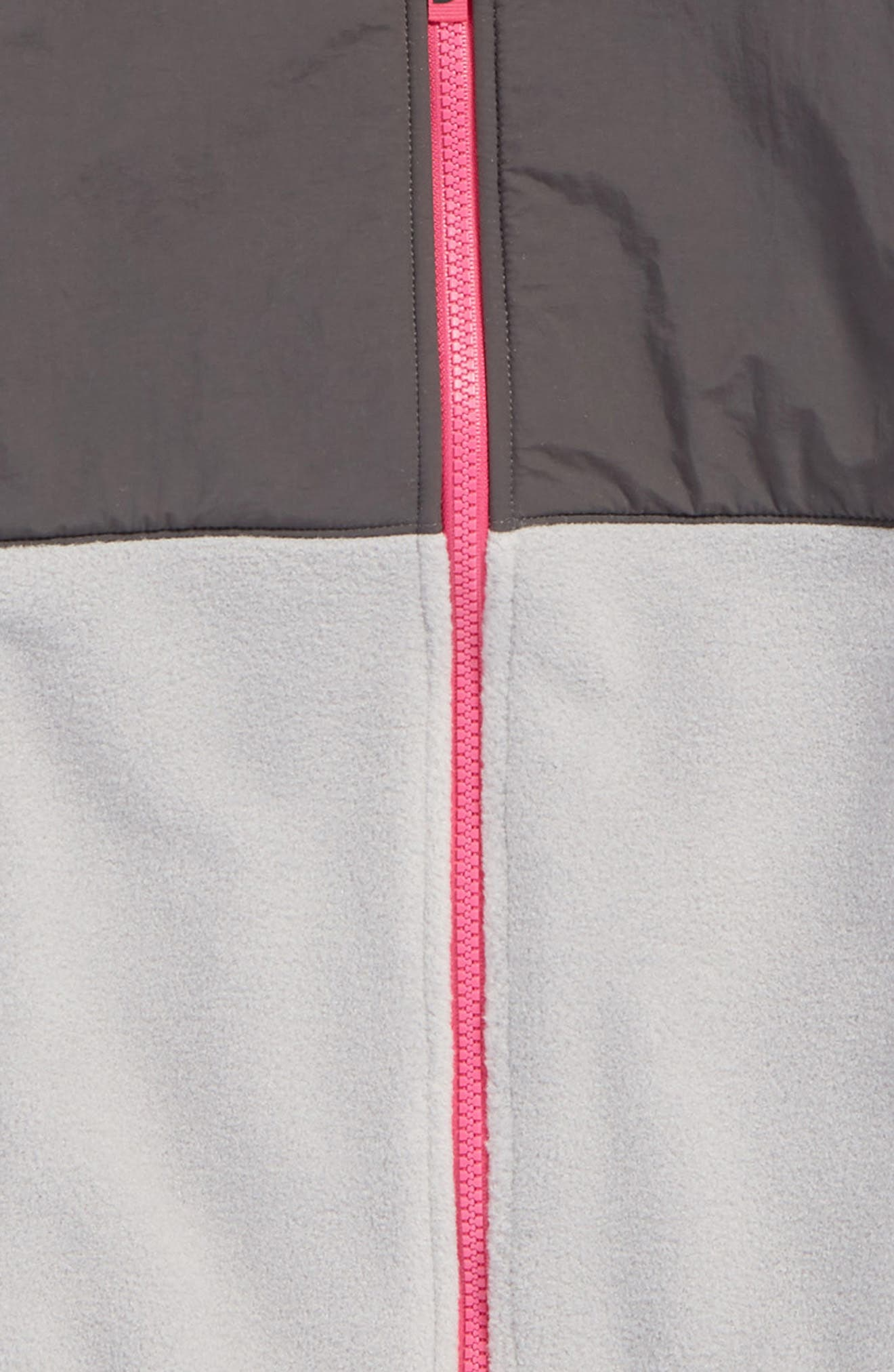 Alternate Image 2  - The North Face Denali Recycled Fleece Jacket (Big Girls)