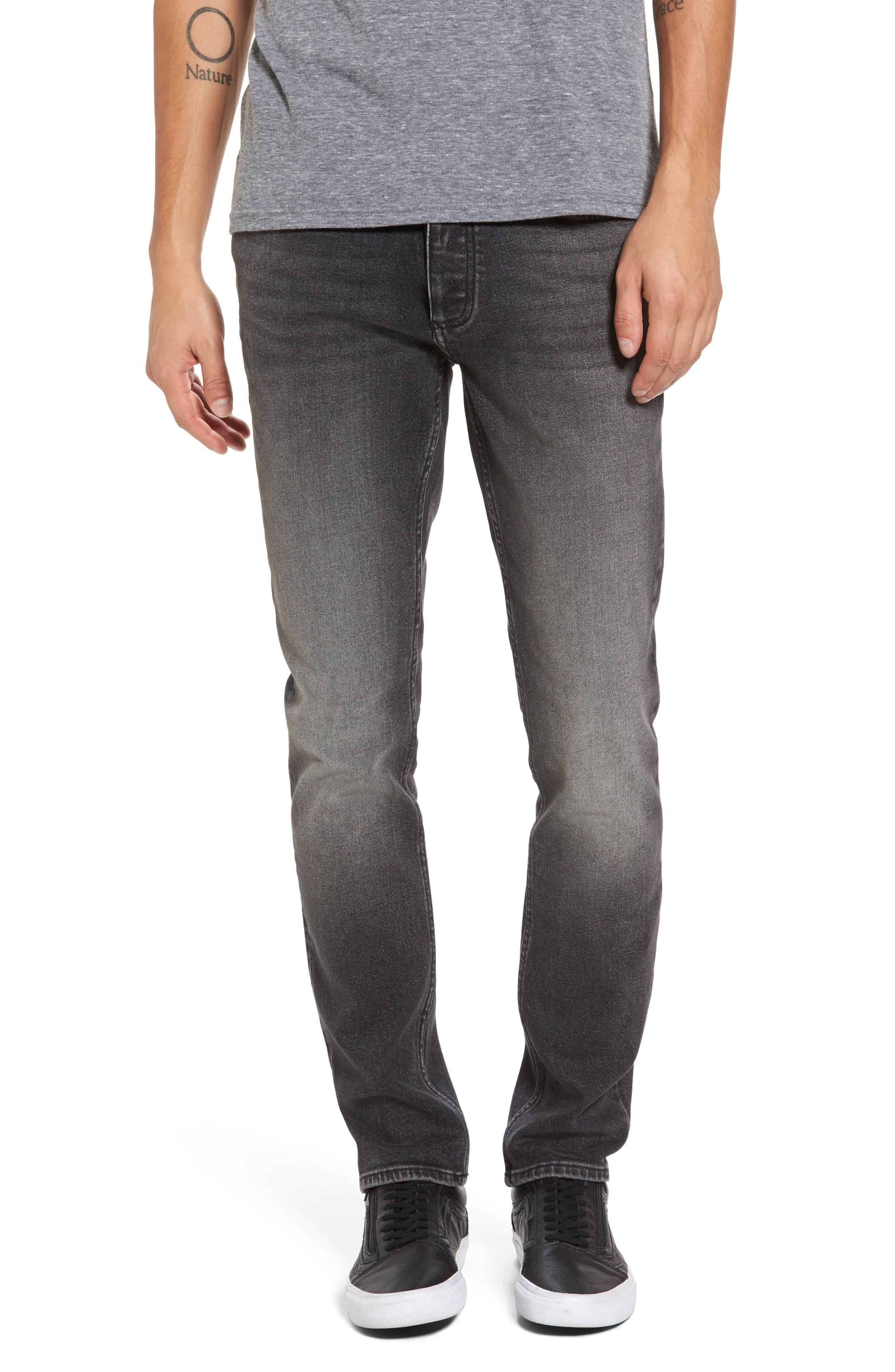 Skinny Jeans,                         Main,                         color, Dark Stone