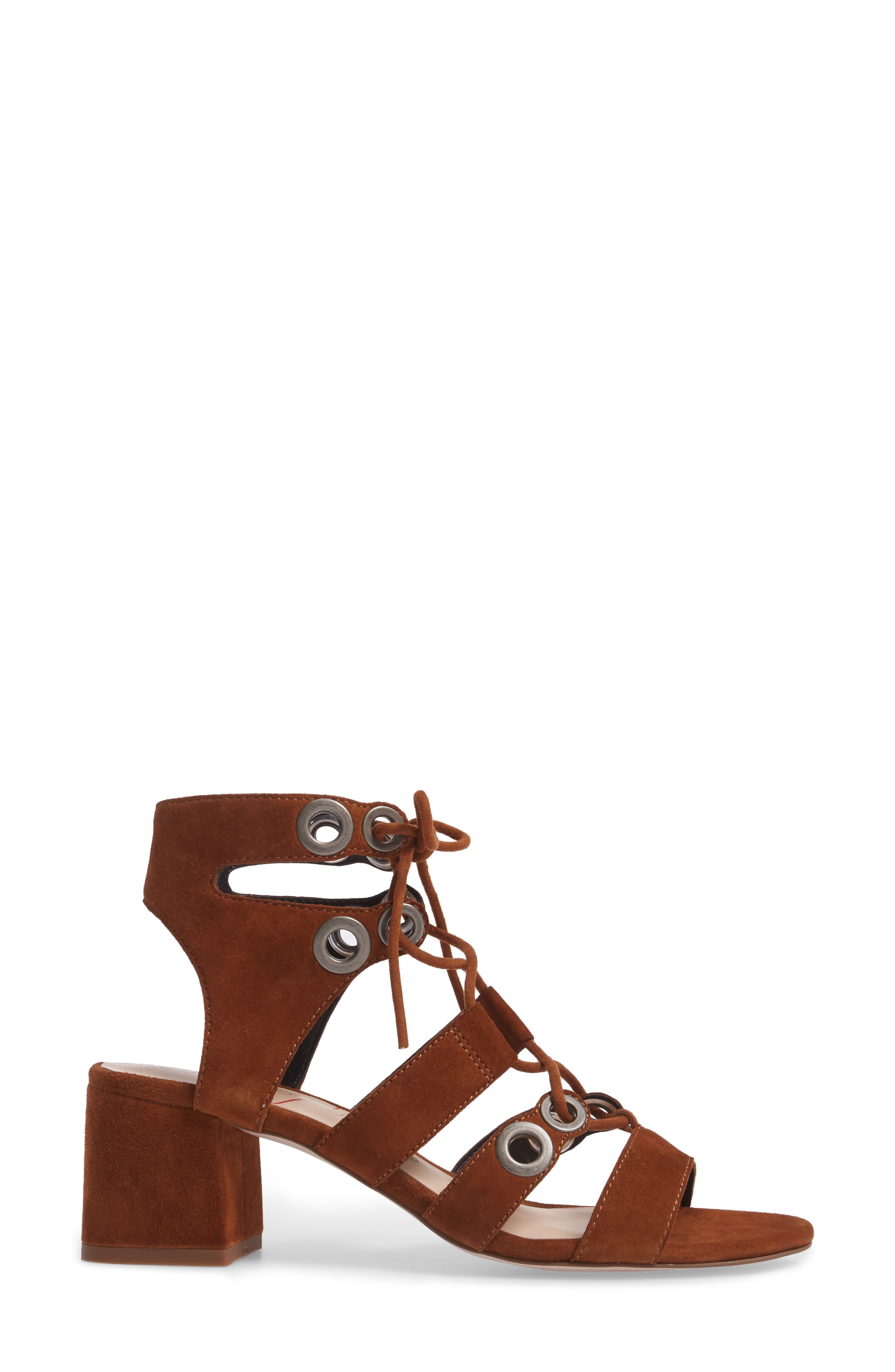 Alternate Image 3  - Sole Society Rosemary Lace-Up Sandal (Women)