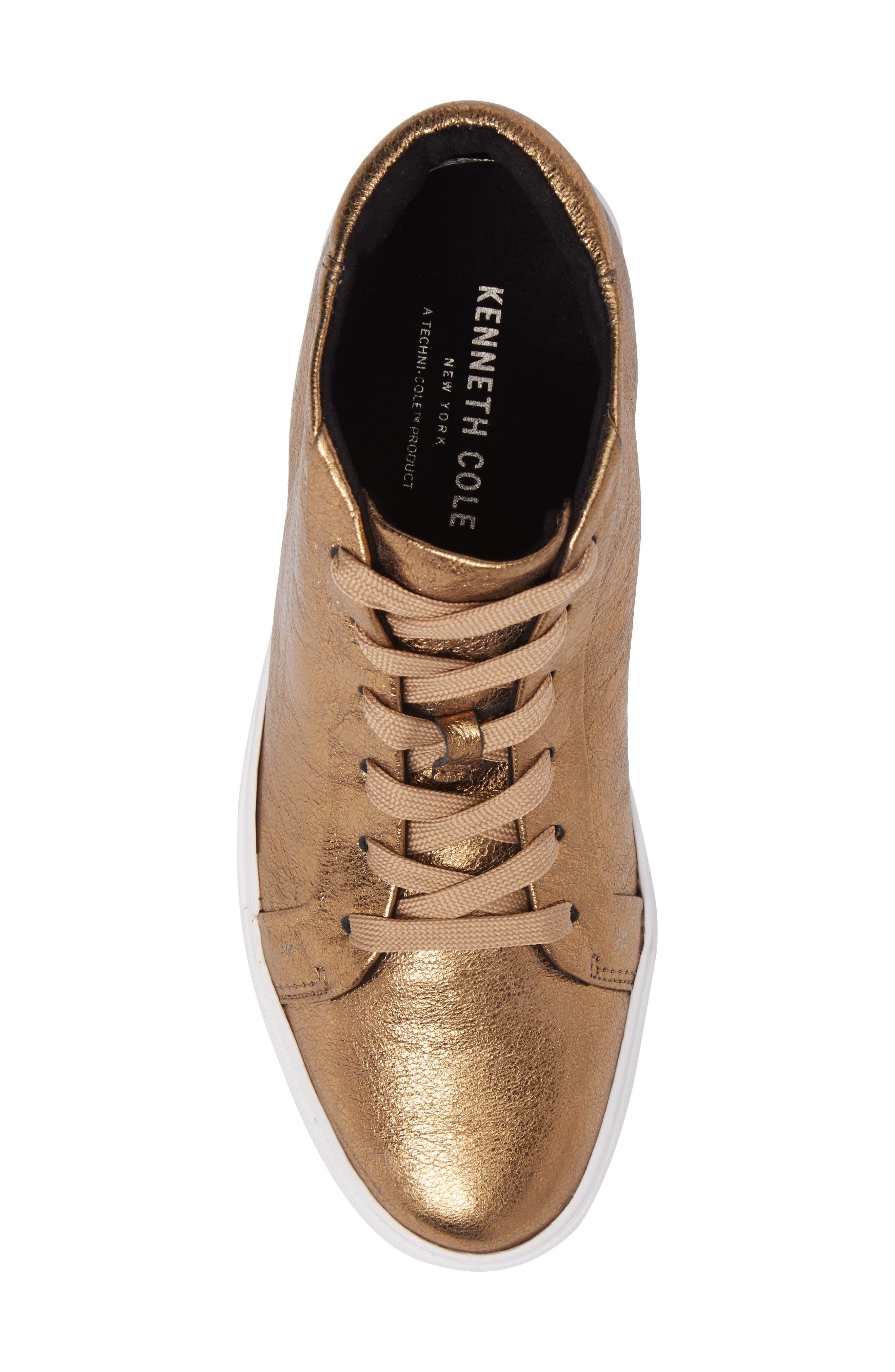 Alternate Image 5  - Kenneth Cole New York Janette High Top Platform Sneaker (Women)