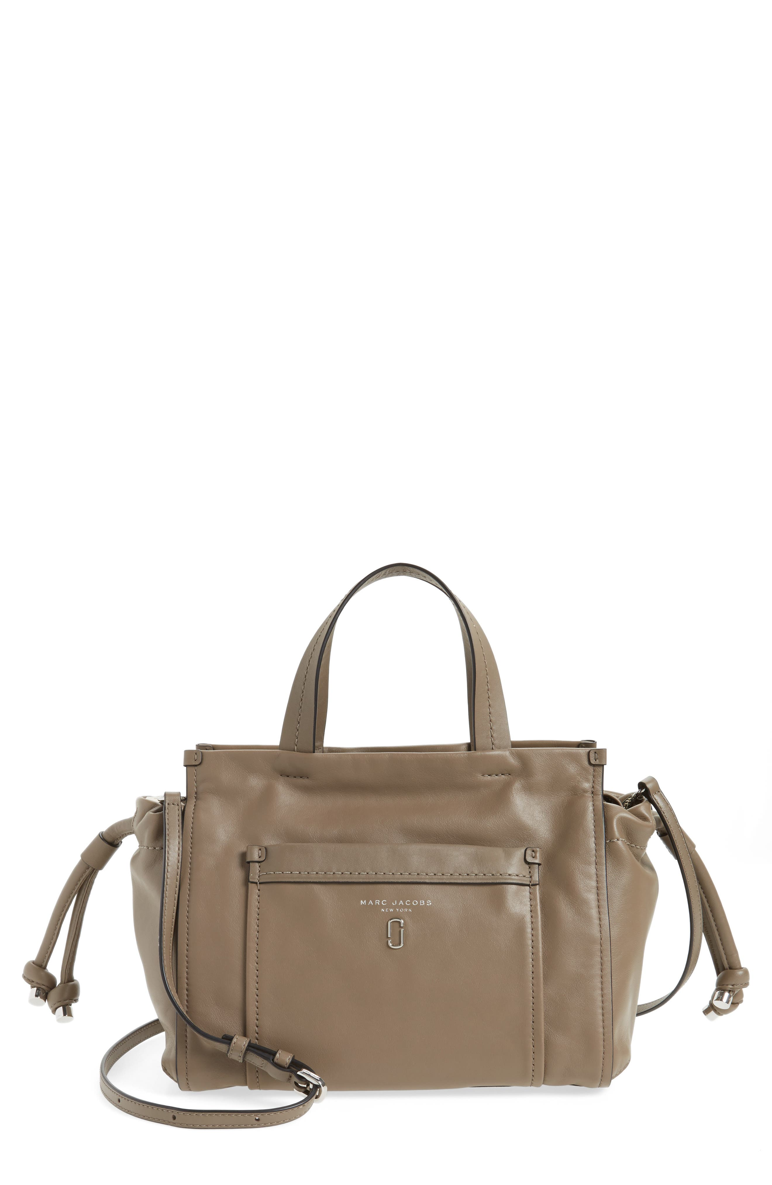 MARC JACOBS Tied Up Leather Shoulder/Crossbody Tote