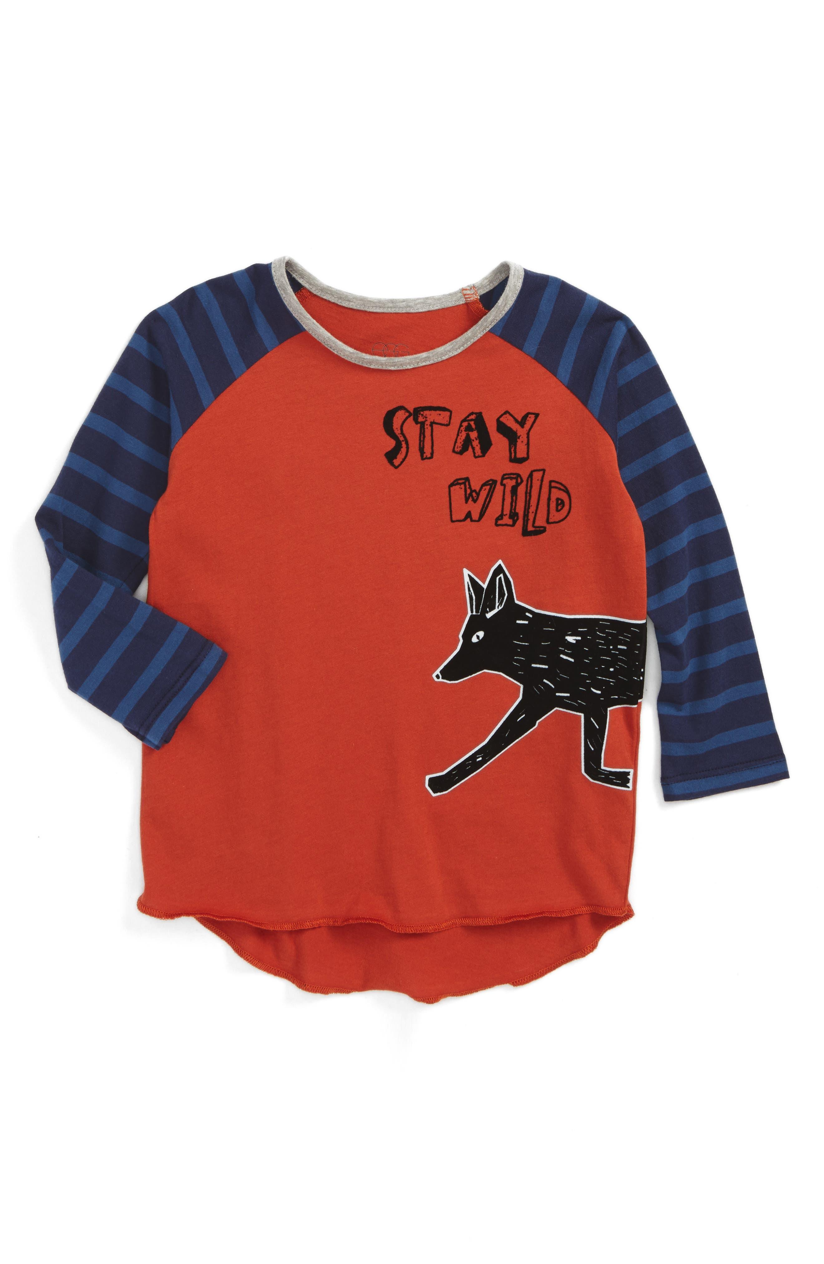 Cole Graphic T-Shirt,                         Main,                         color, Brick