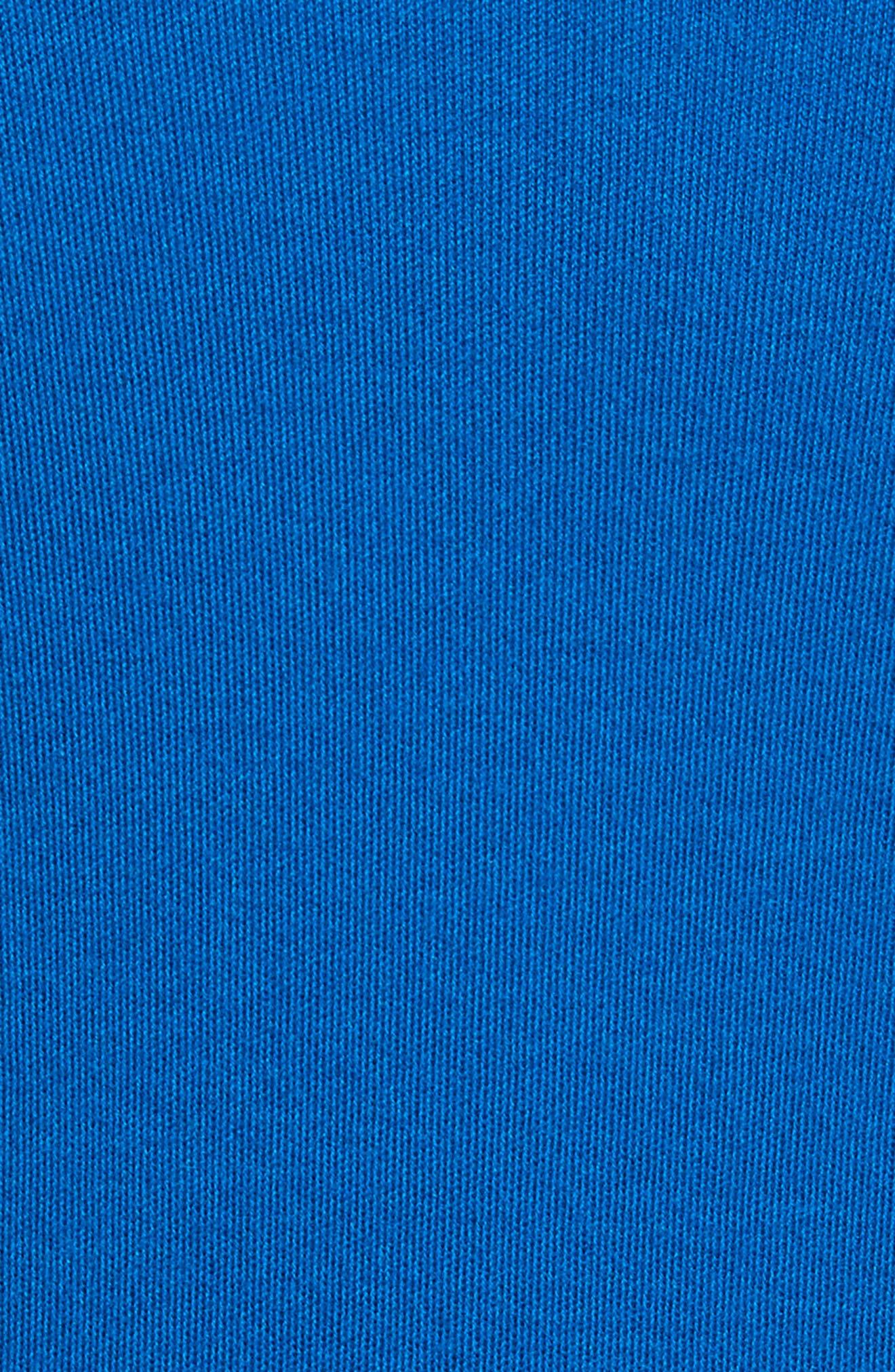 Long Cashmere Cardigan,                             Alternate thumbnail 6, color,                             Mediterranean