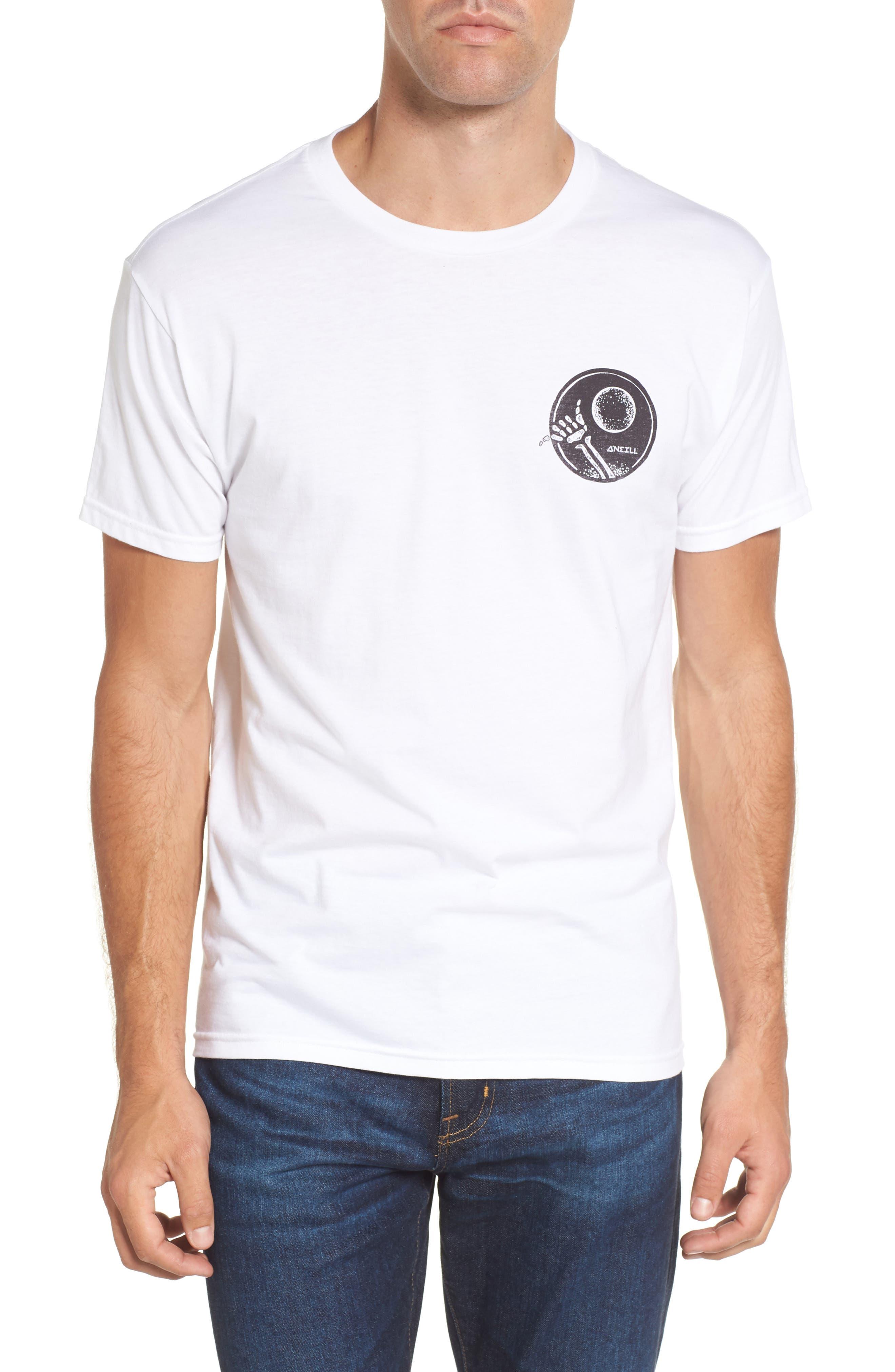Night Shredder Graphic T-Shirt,                         Main,                         color, White