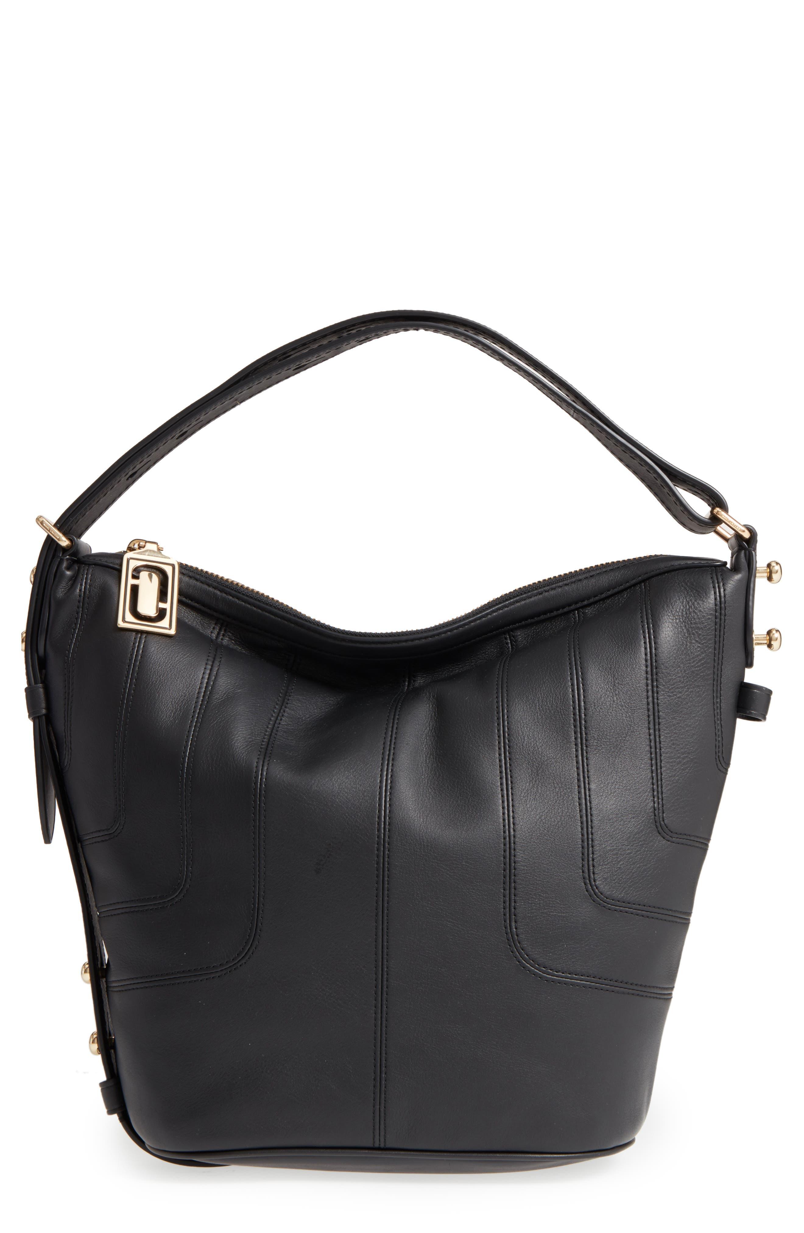 MARC JACOBS The Sling Mod Leather Hobo/Crossbody/Sling Bag