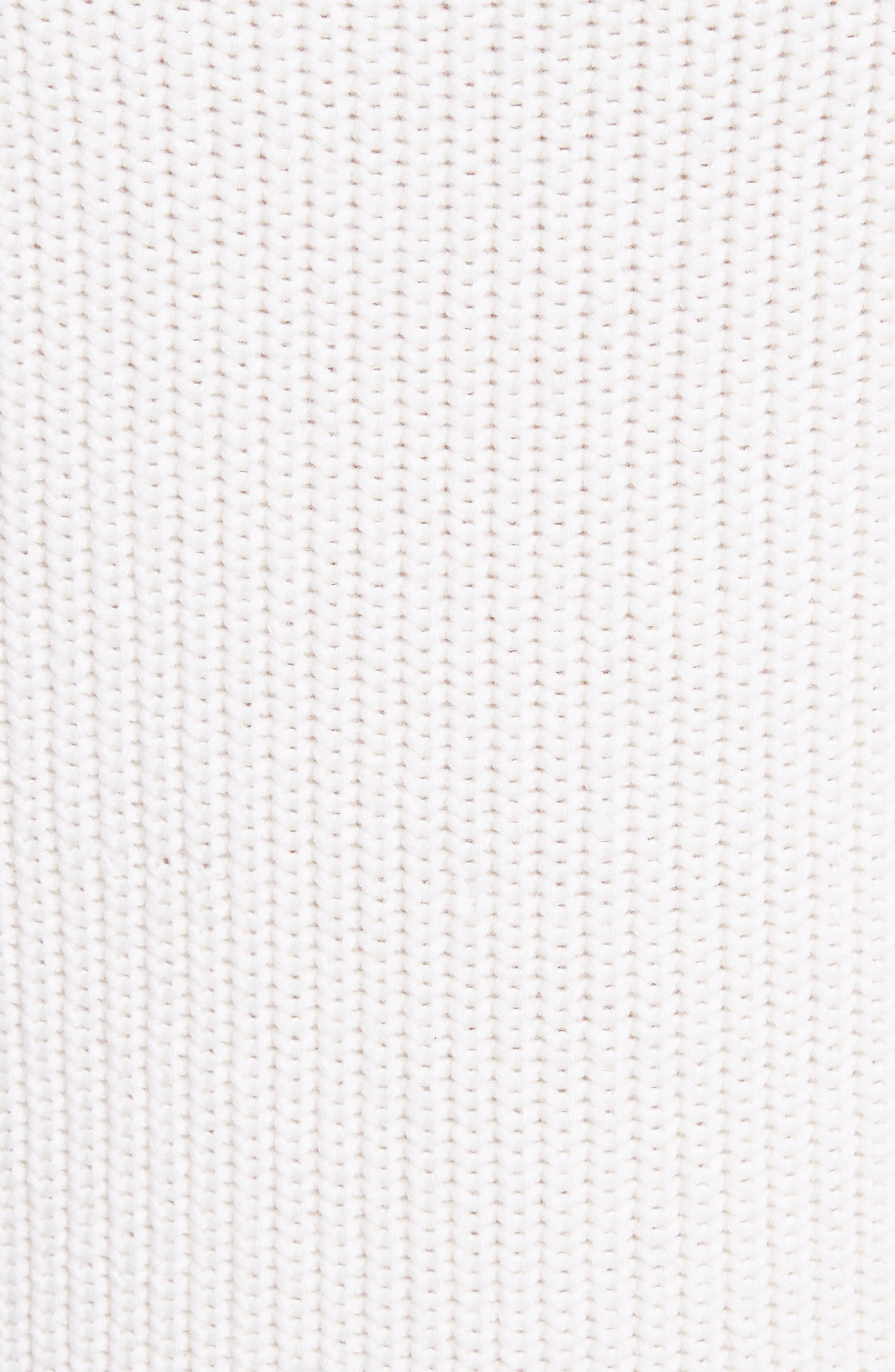 Alternate Image 5  - Michael Kors Merino Wool & Cotton Pullover