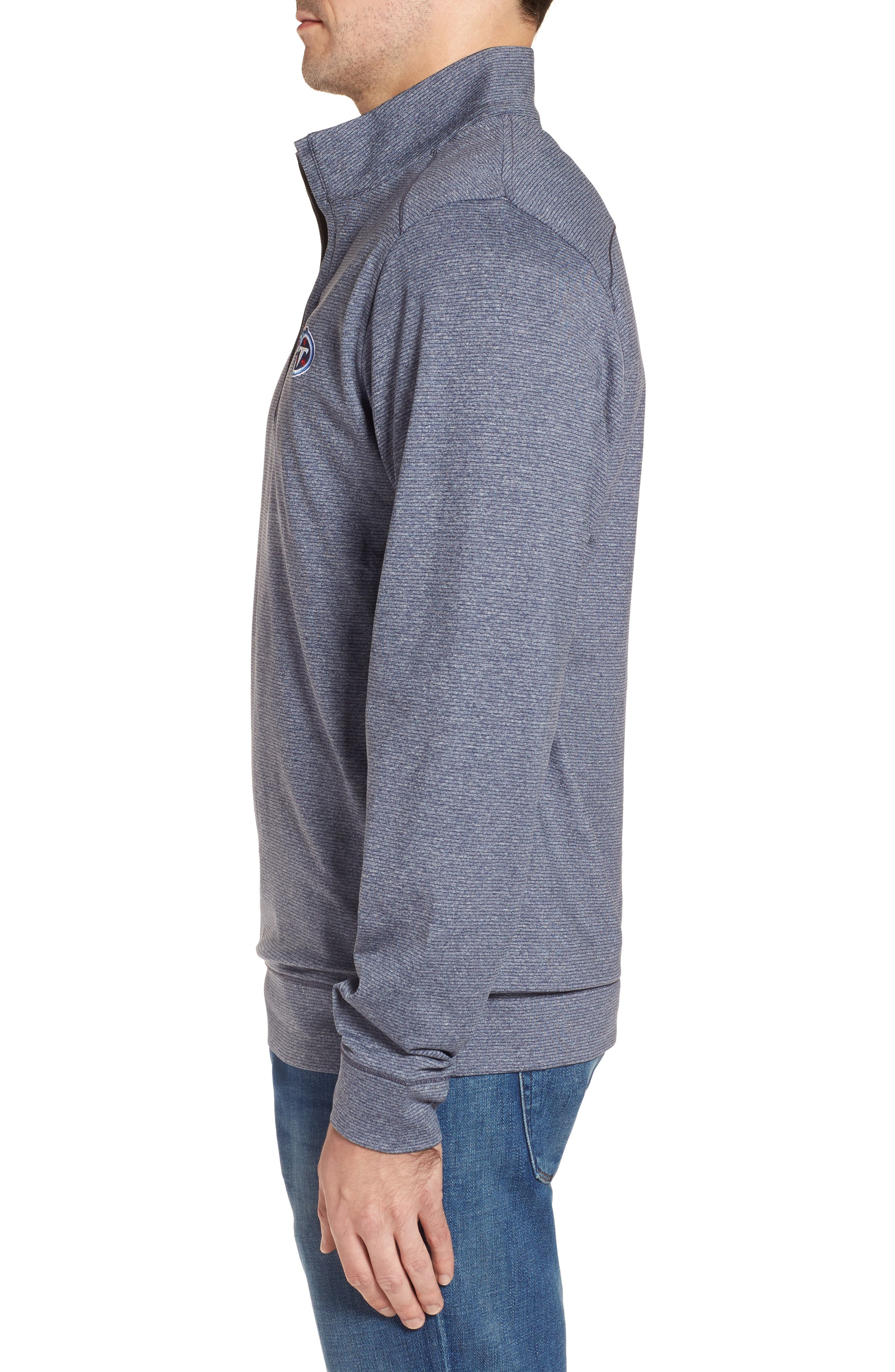 Alternate Image 3  - Cutter & Buck Shoreline - Tennessee Titans Half Zip Pullover