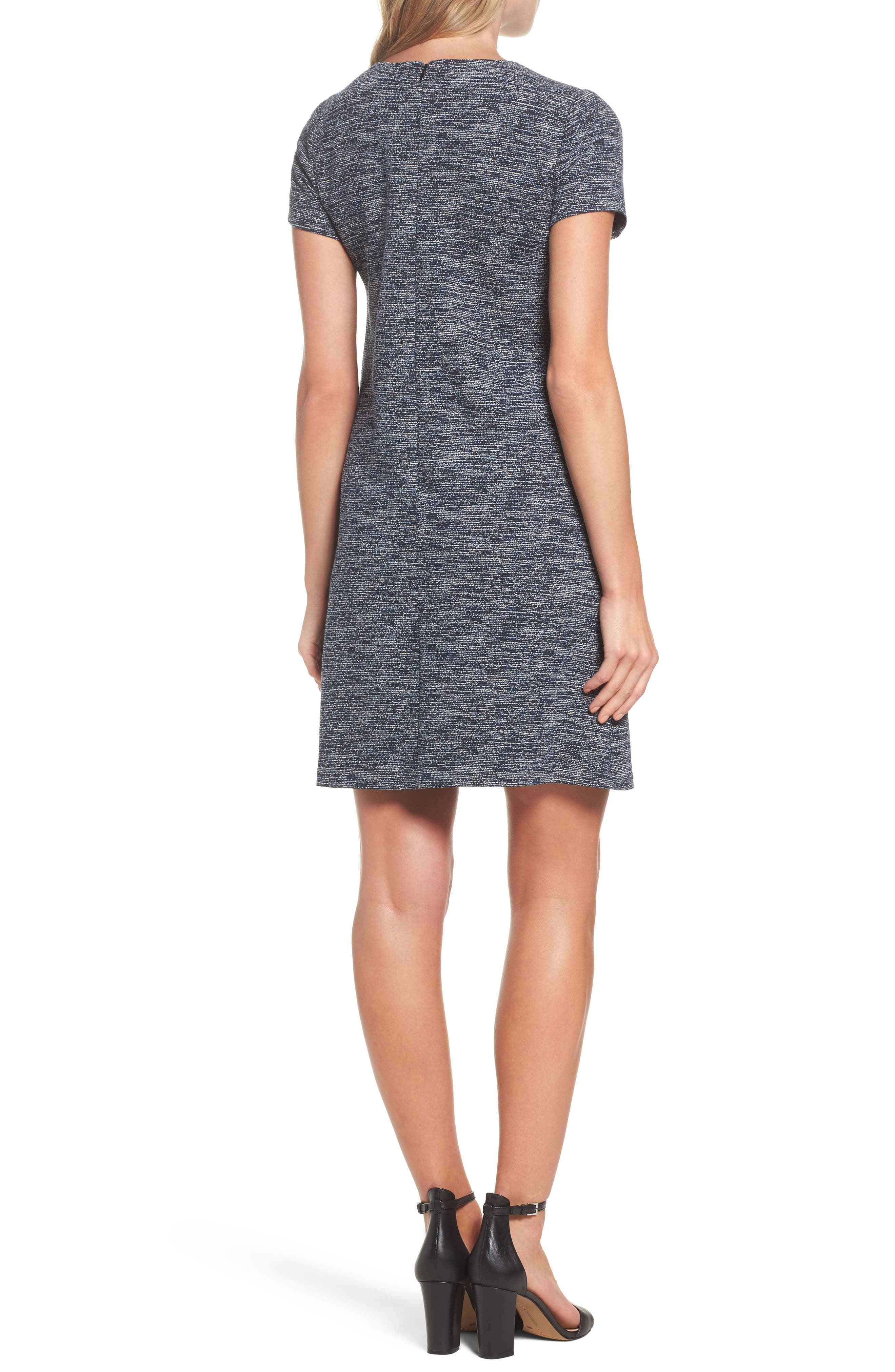 Alternate Image 2  - Adrianna Papell Knit Tweed Shift Dress