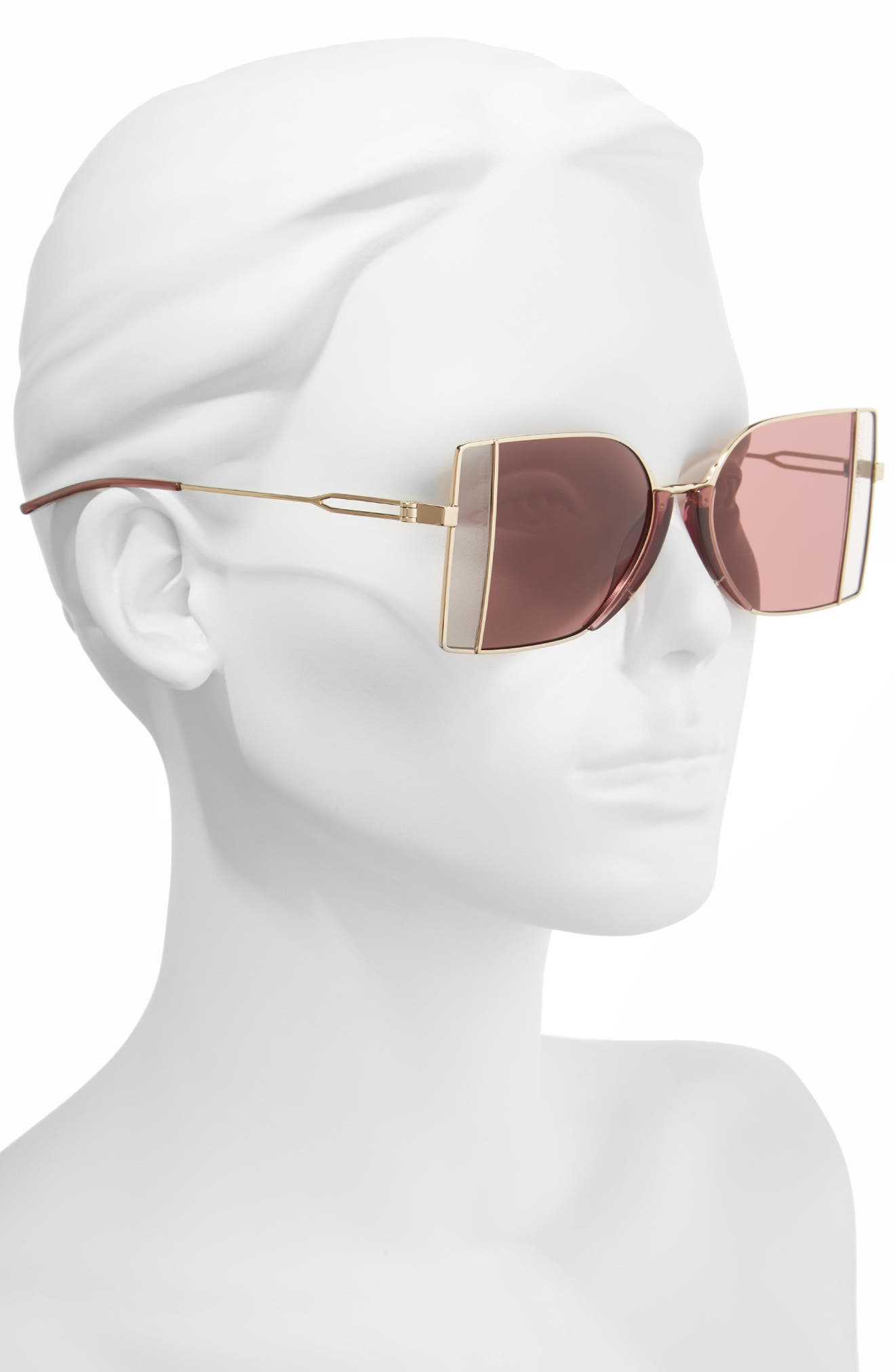 Alternate Image 2  - CALVIN KLEIN 205W39NYC 51mm Butterfly Sunglasses