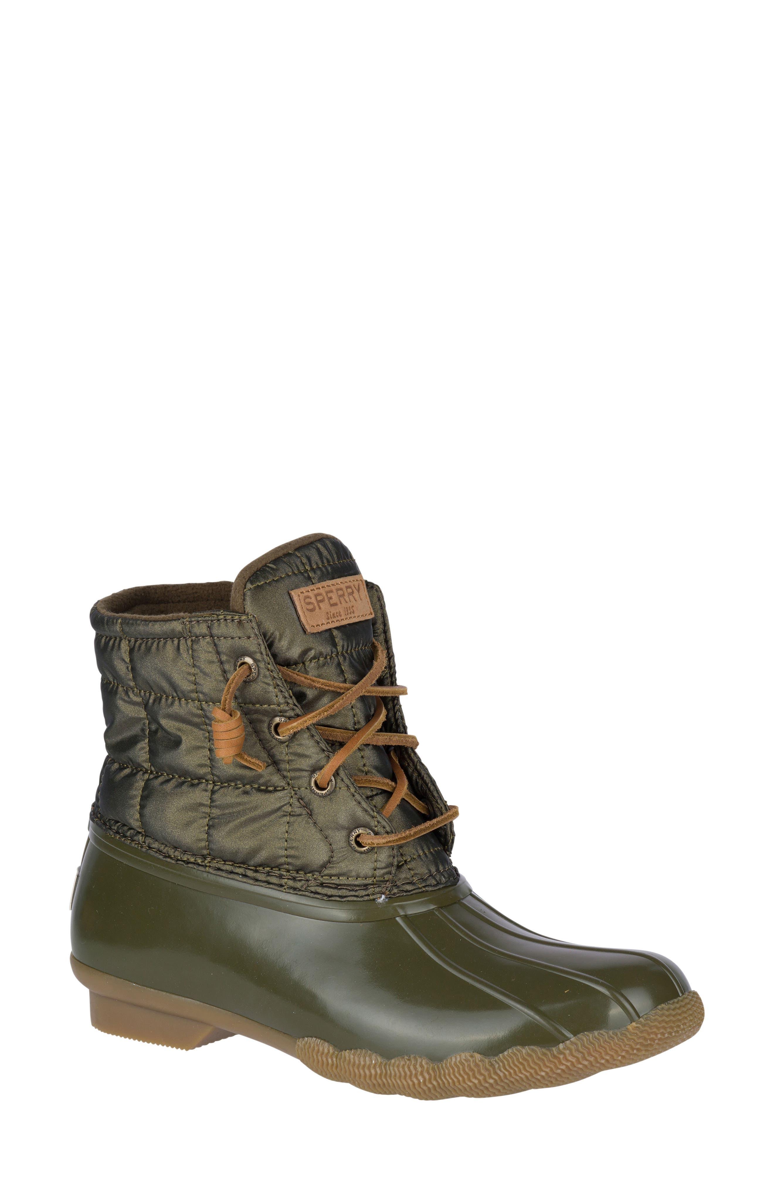 Sperry Green Rain \u0026 Winter Boots