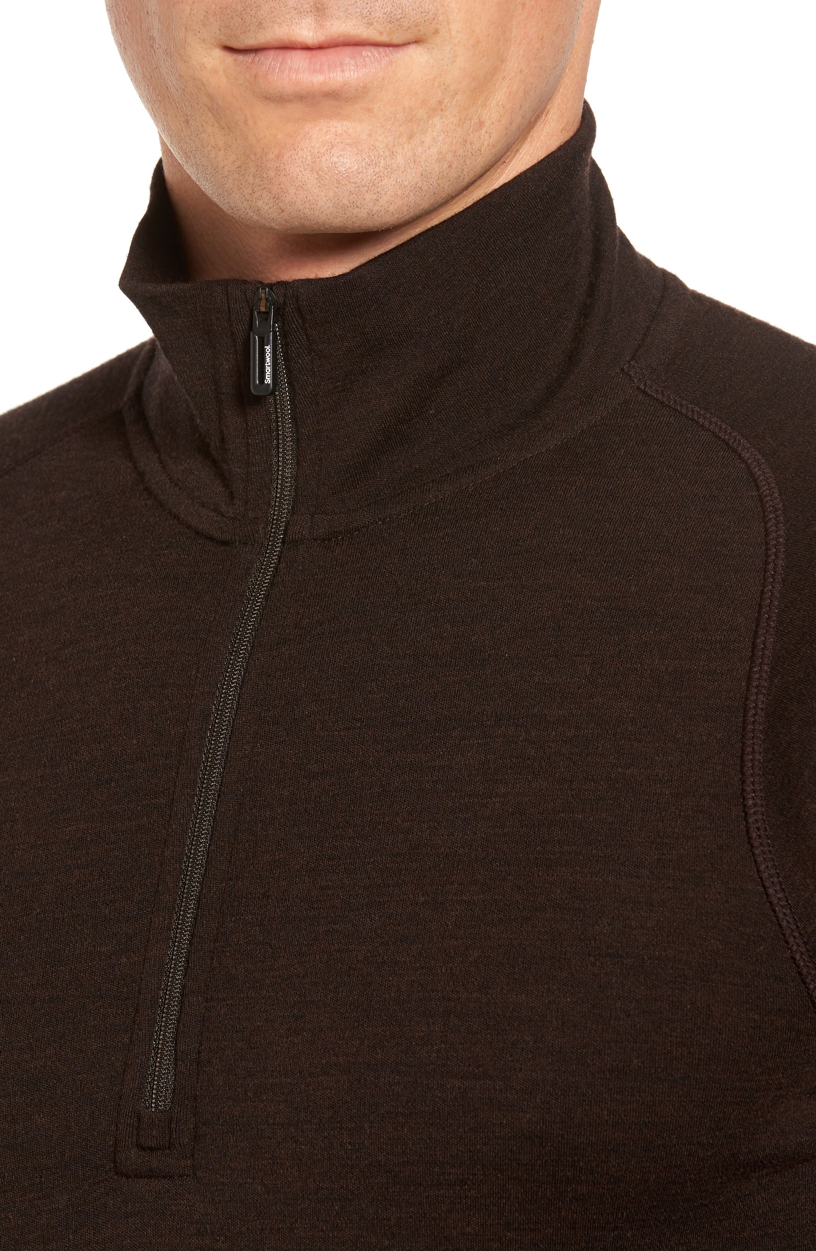 Alternate Image 4  - Smartwool Merino 250 Base Layer Quarter Zip Pullover
