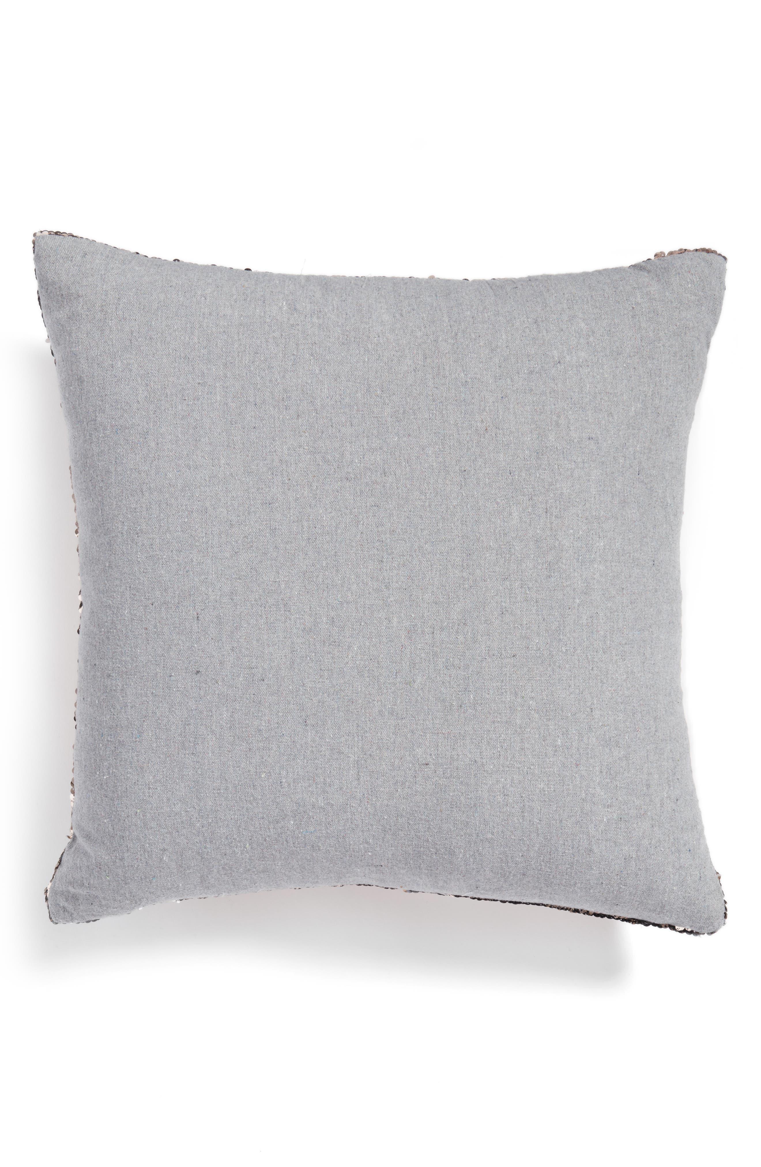 Sequin Pillow,                             Alternate thumbnail 2, color,                             Gold