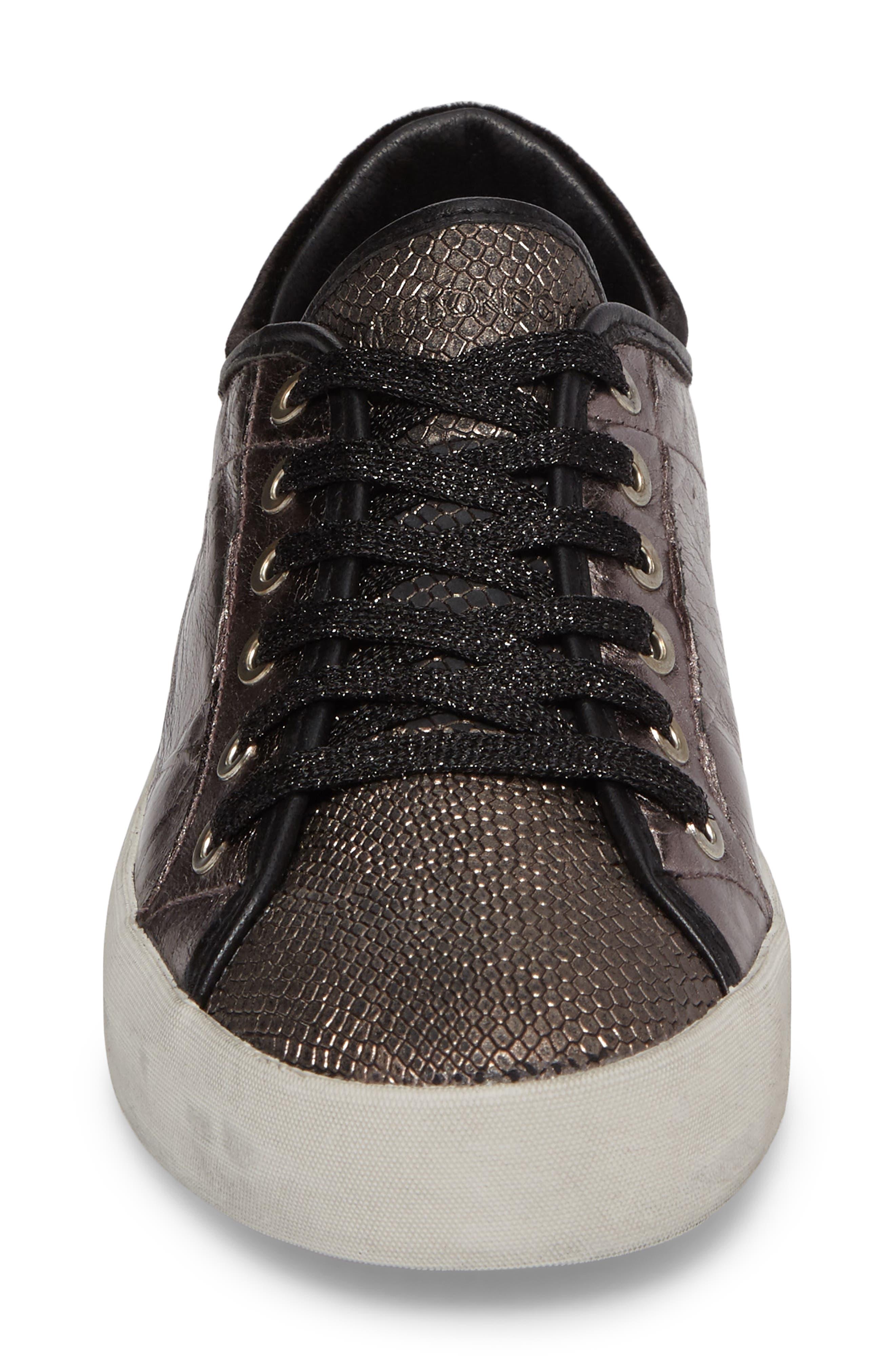 Faith Sneaker,                             Alternate thumbnail 4, color,                             Silver - 23