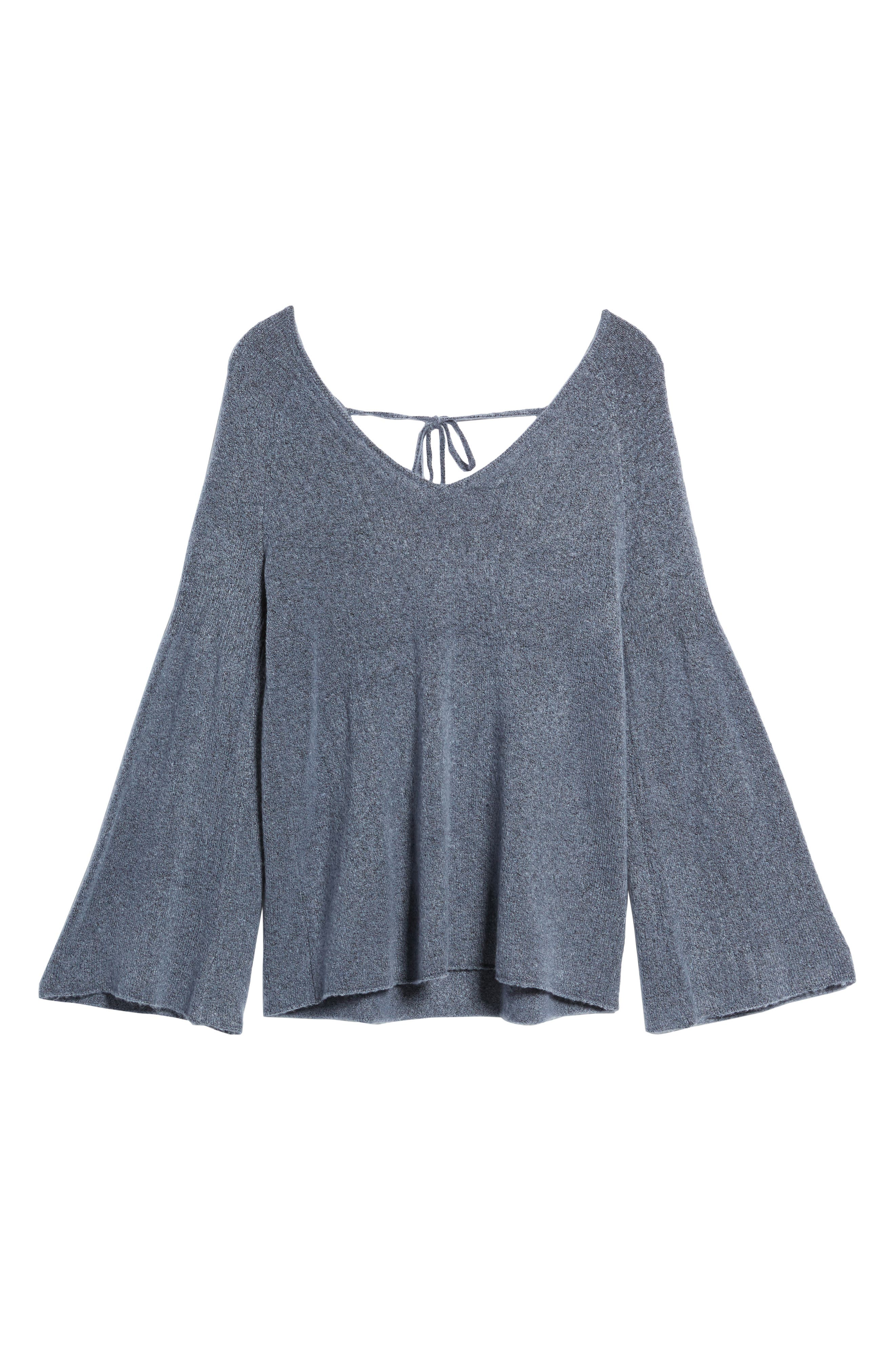 Alternate Image 6  - Hinge Bell Sleeve Sweater