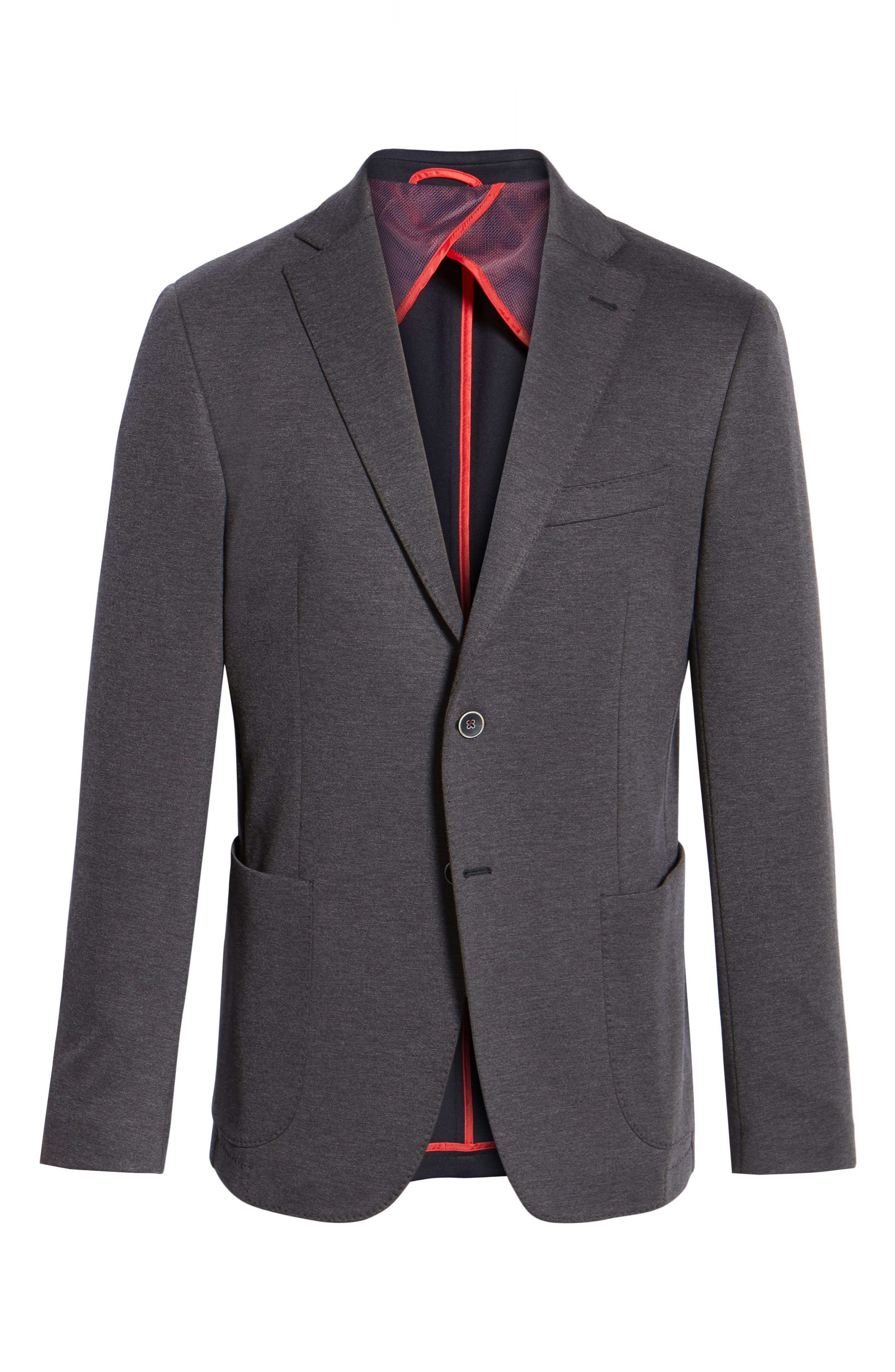 Alternate Image 6  - Bugatchi Regular Fit Blazer