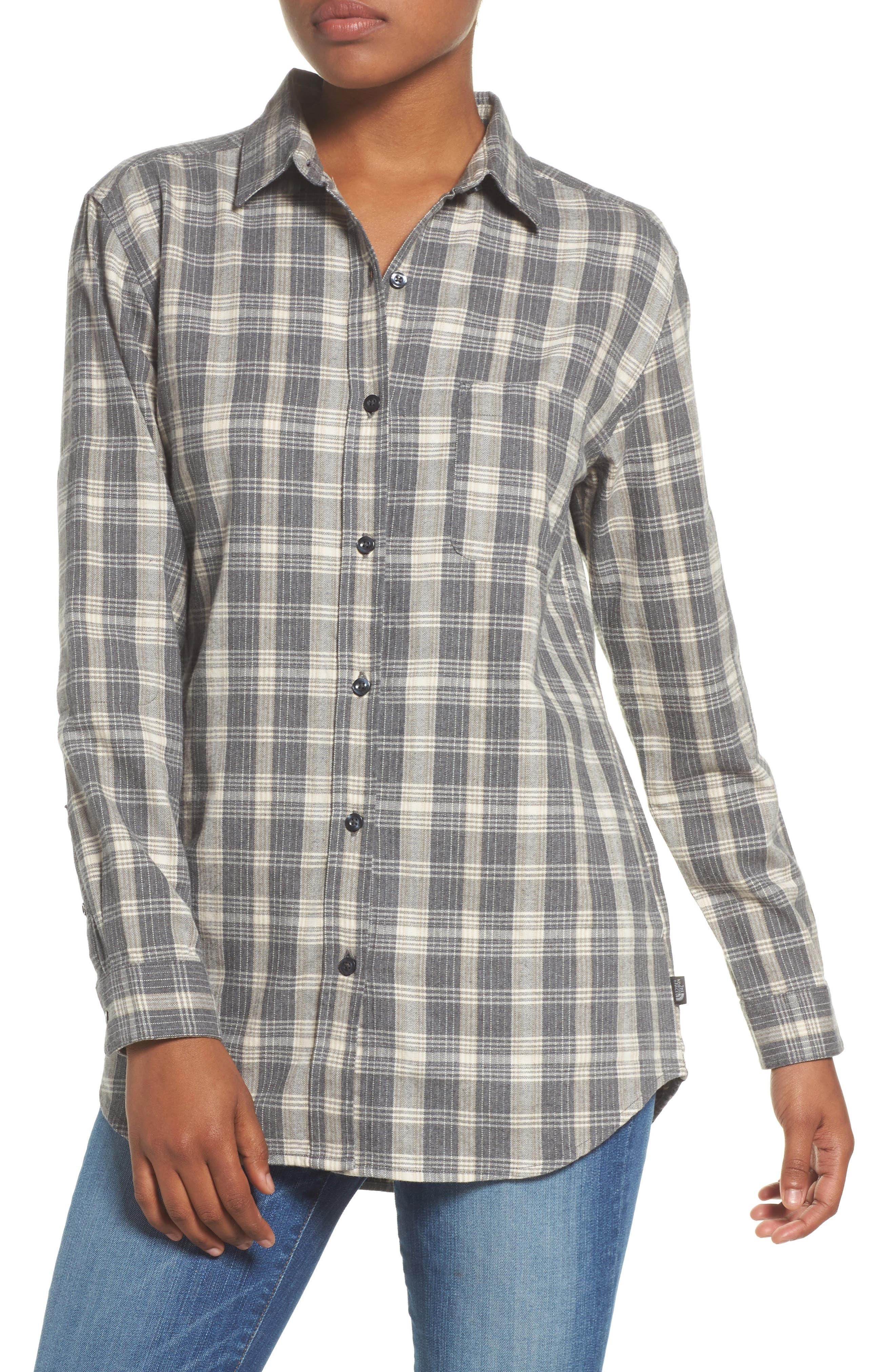 Alternate Image 1 Selected - The North Face Boyfriend Shirt
