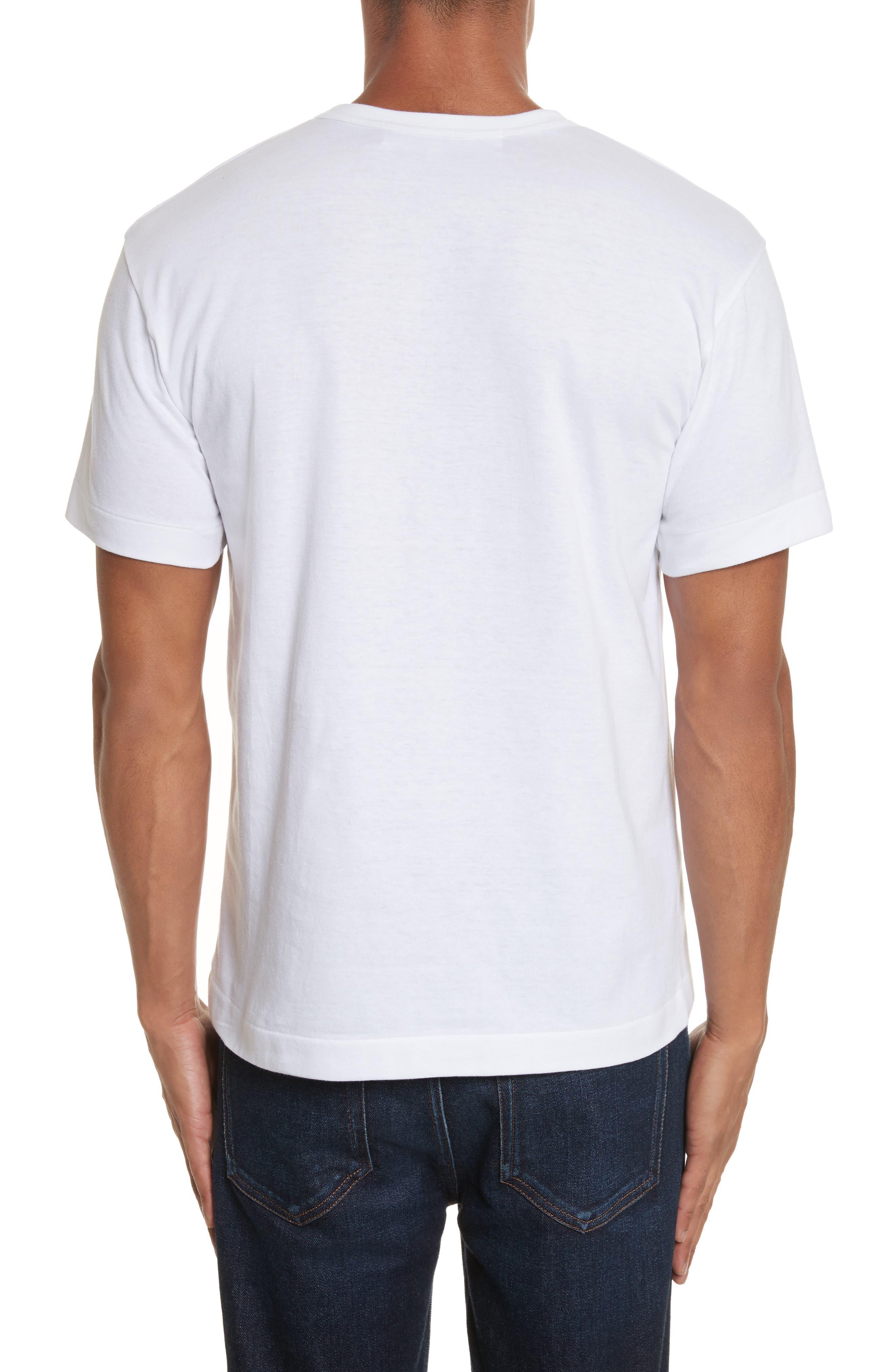 Alternate Image 2  - Comme des Garçons PLAY Cotton Jersey Crewneck T-Shirt