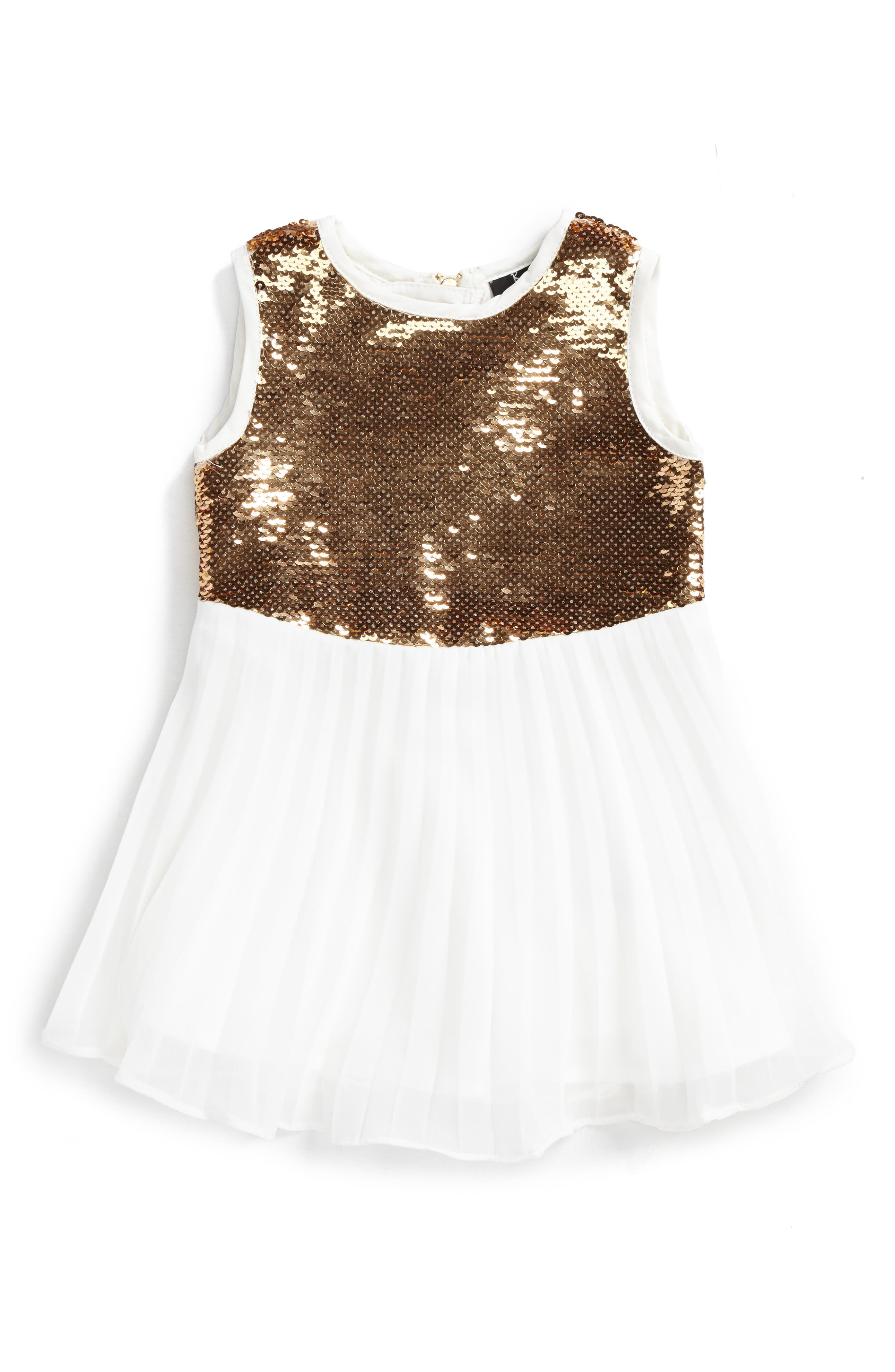 Bardot Junior Sequin Dress (Baby Girls & Toddler Girls)