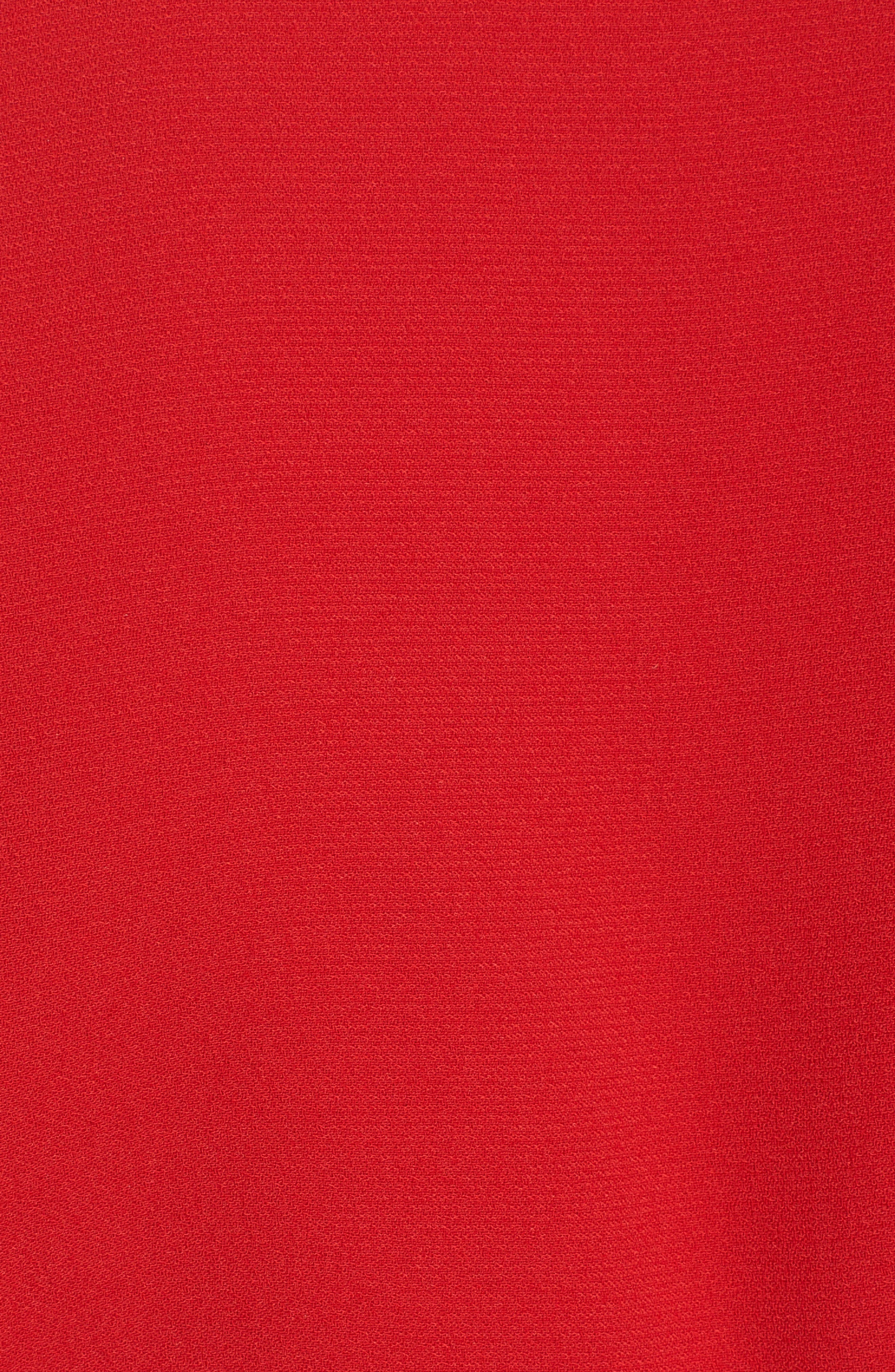 Wrap Top,                             Alternate thumbnail 5, color,                             Red