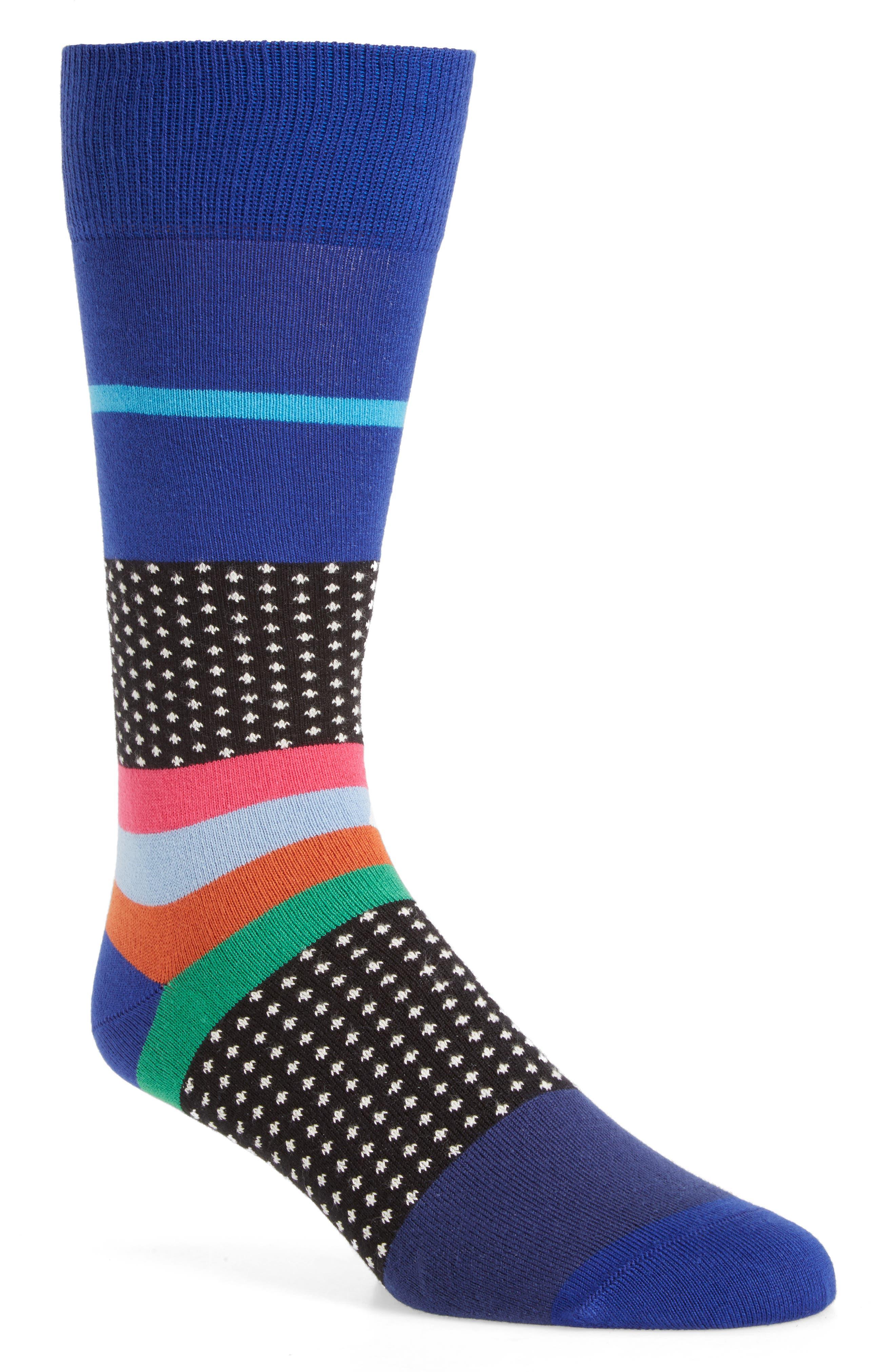 Paul Smith Spot Stripe Socks