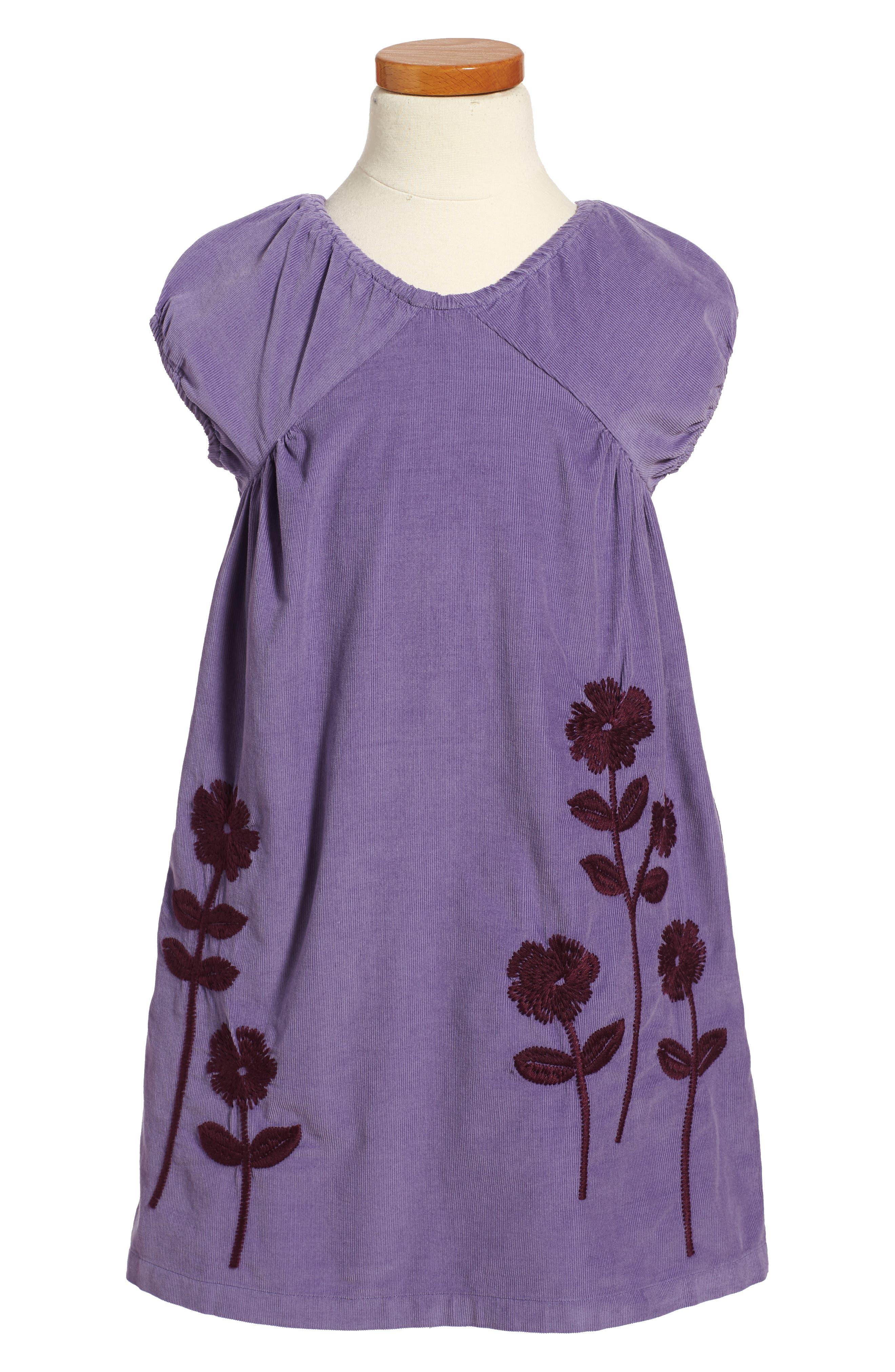 Main Image - Tea Collection Cullodena Corduroy Dress (Toddler Girls, Little Girls & Big Girls)