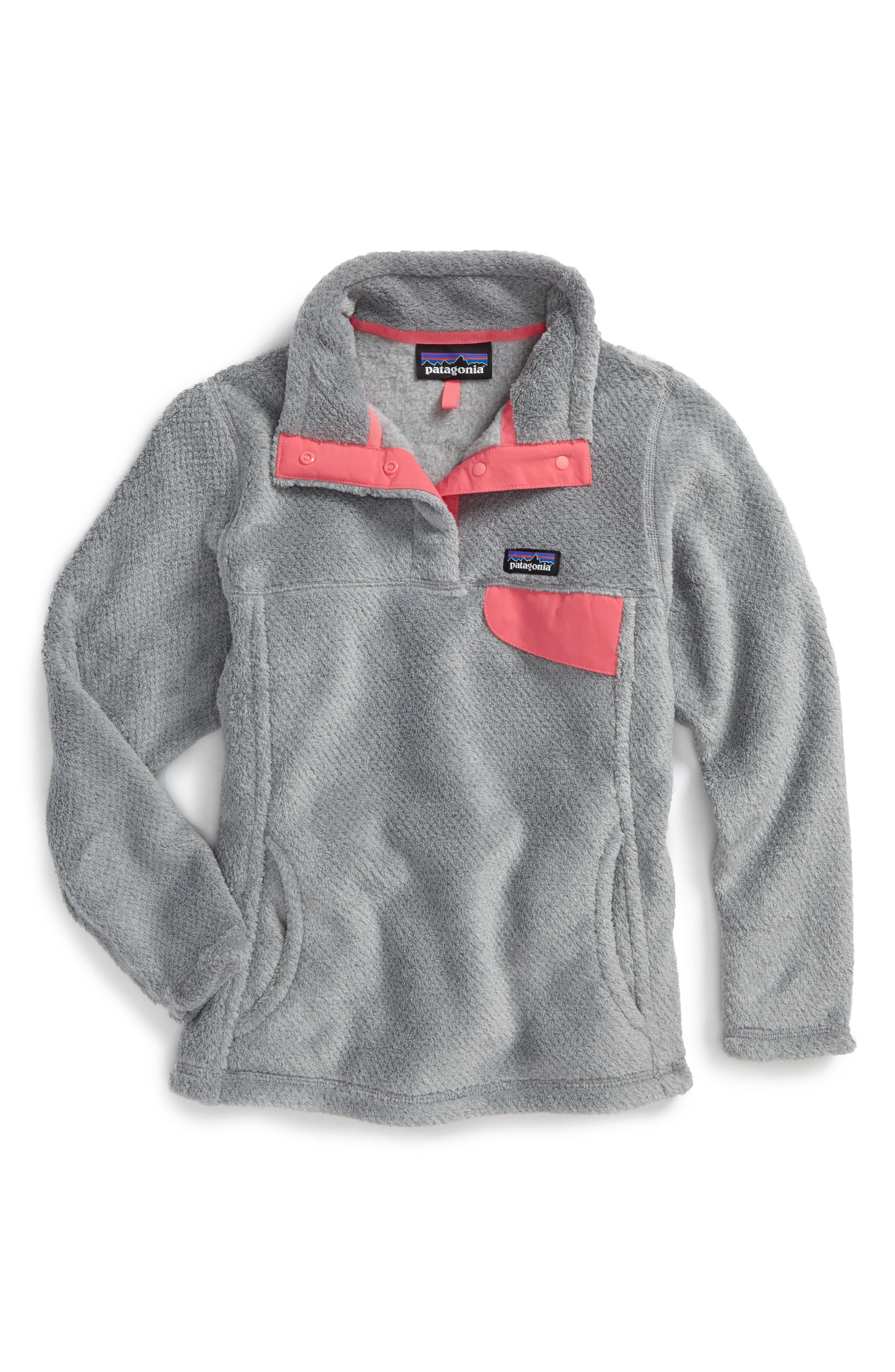 Alternate Image 1 Selected - Patagonia Re-Tool Snap-T® Pullover (Little Girls & Big Girls)