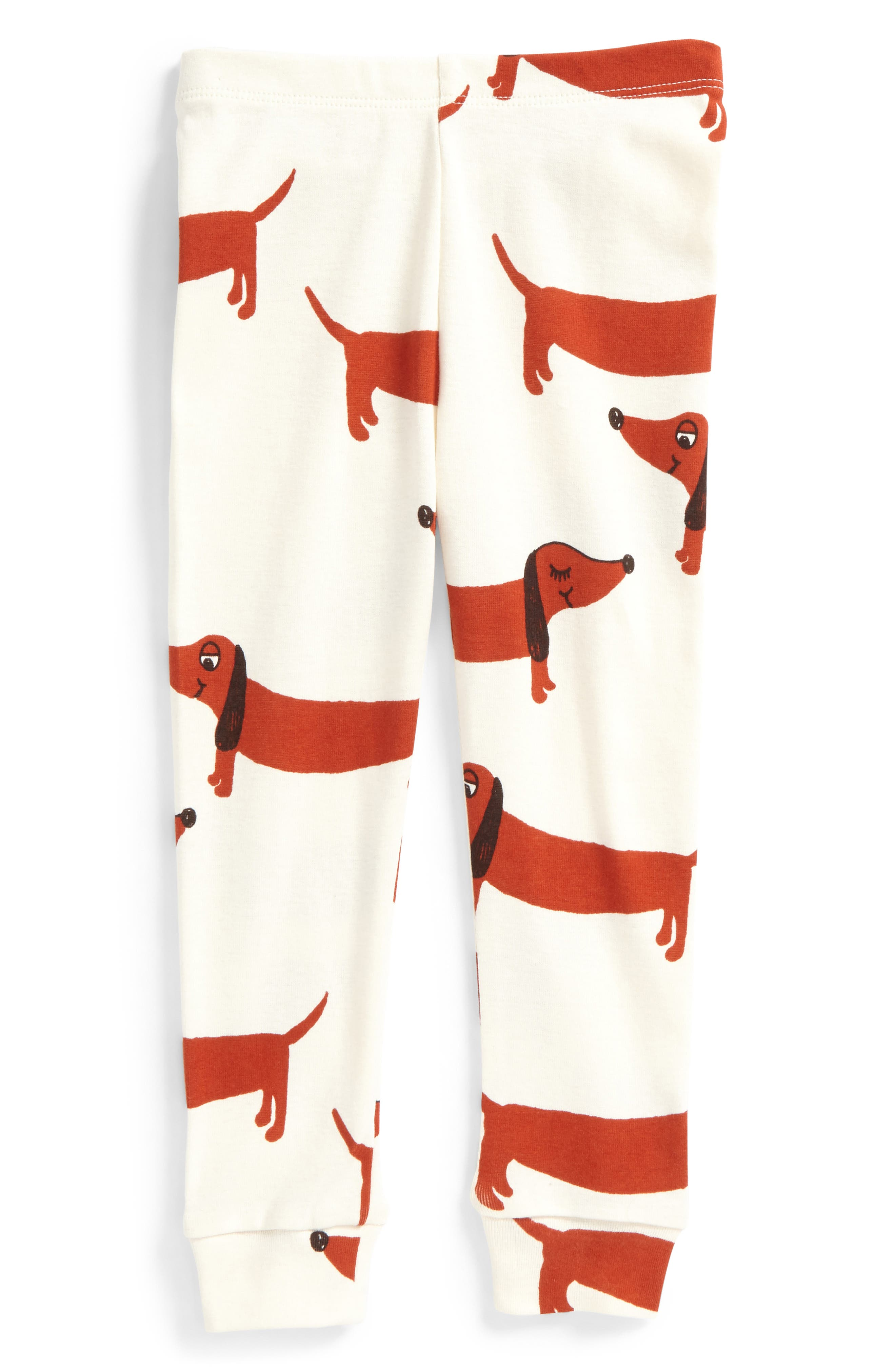 Alternate Image 1 Selected - Mini Rodini Dog Leggings (Baby Boys)