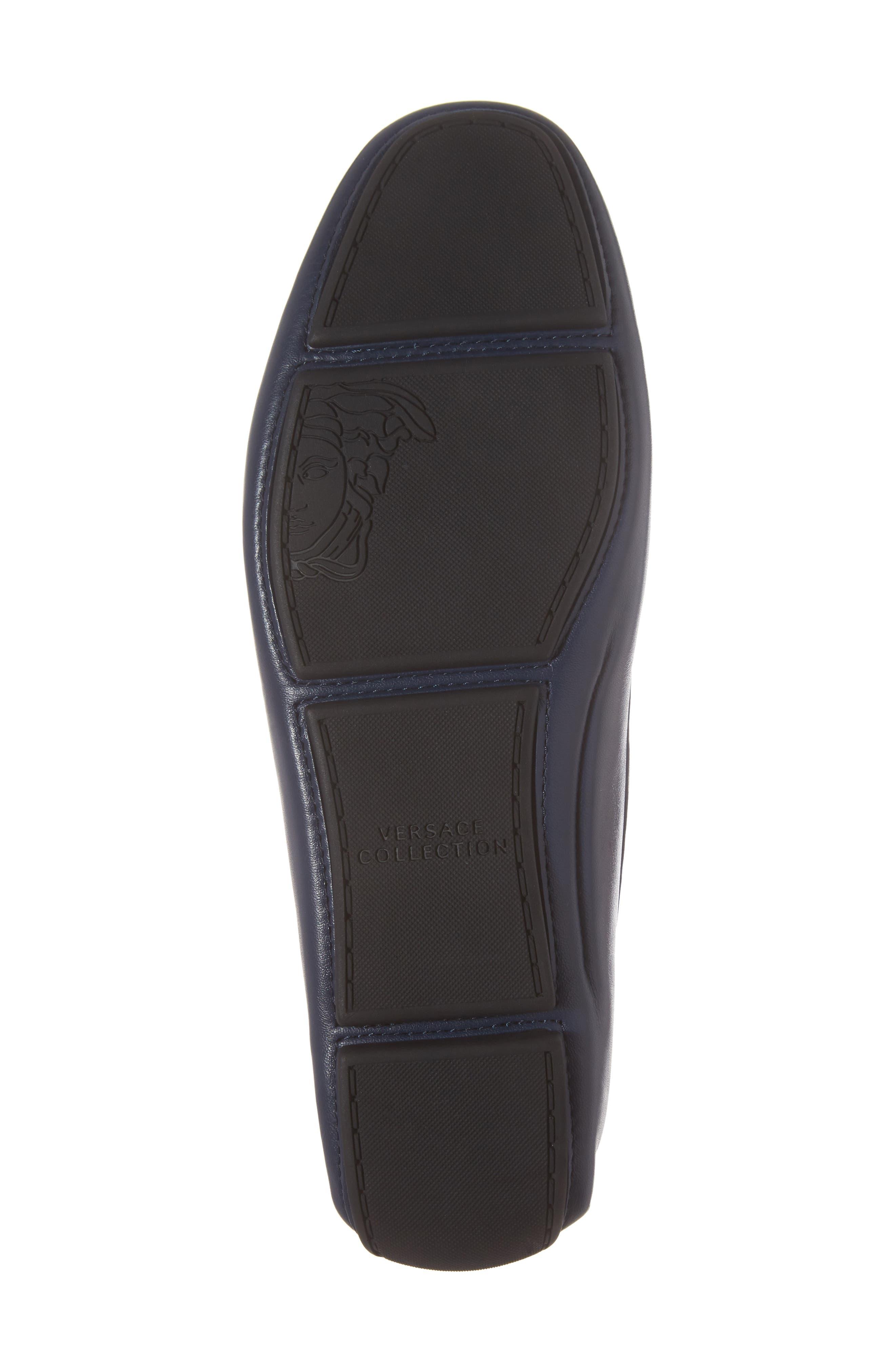 Alternate Image 6  - Versace Collection Art Deco Driving Shoe (Men)