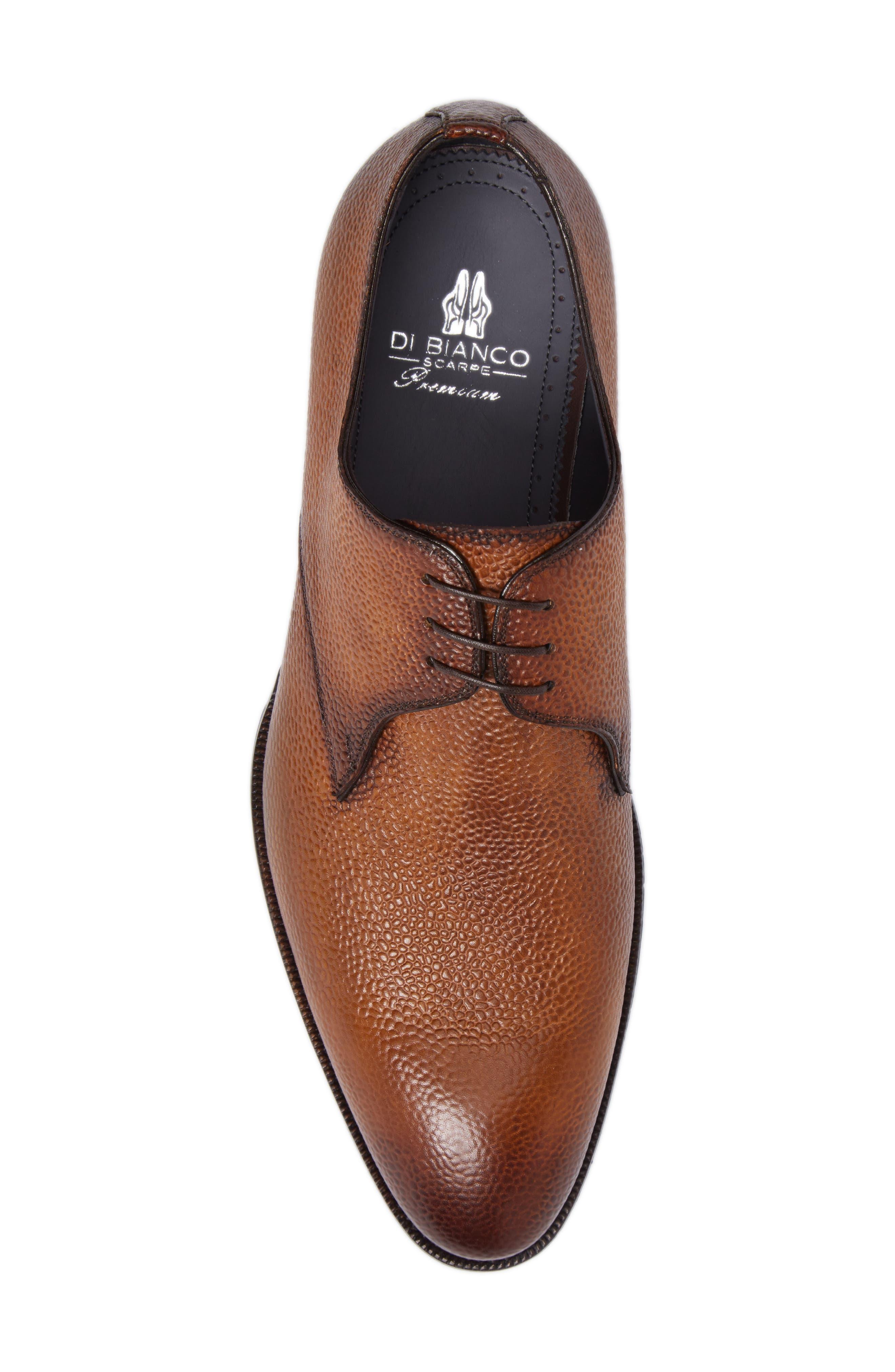 Alternate Image 5  - Di Bianco Gallo Plain Toe Derby (Men)