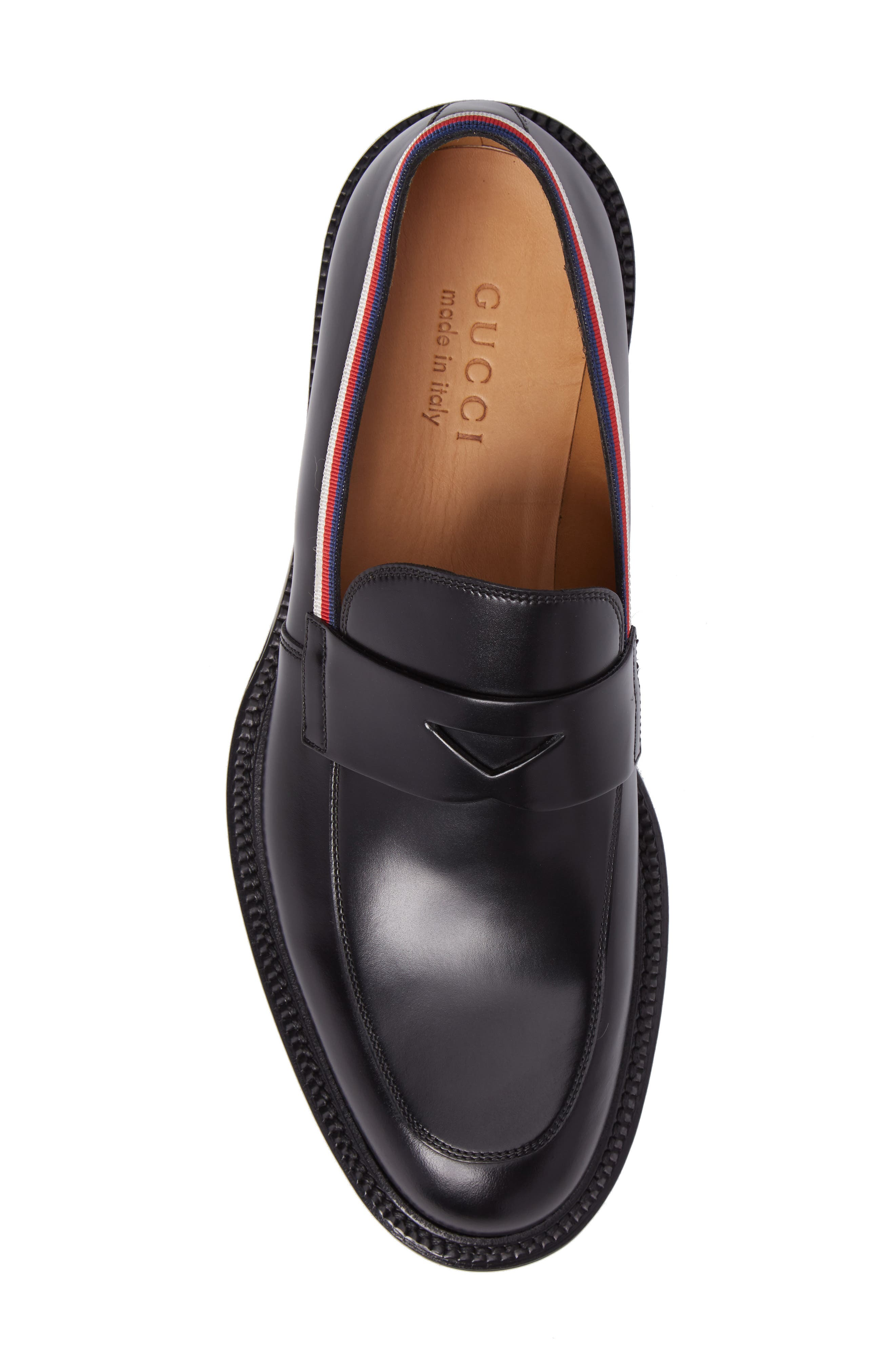Beyond Penny Loafer,                             Alternate thumbnail 5, color,                             Black