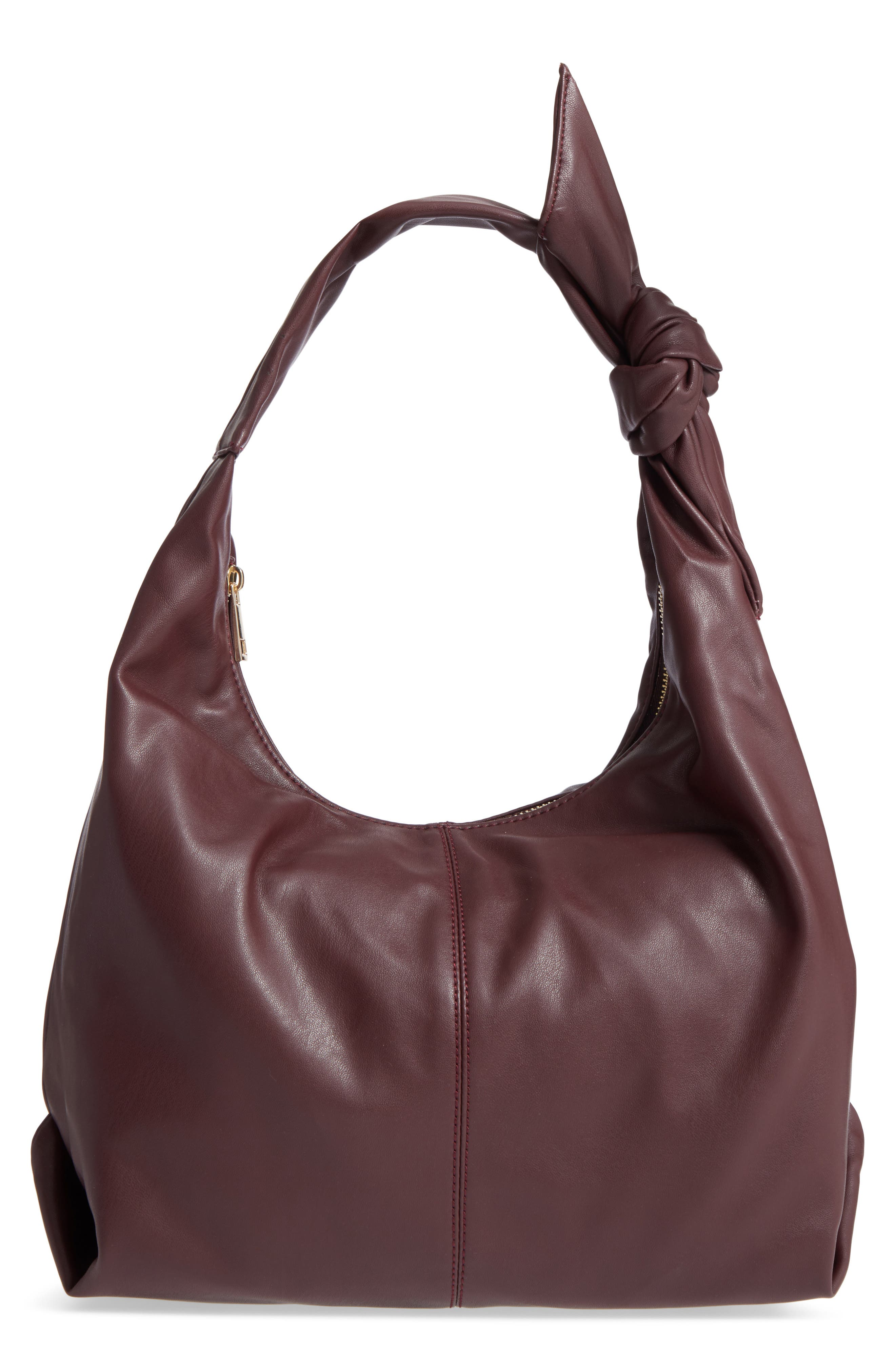 Alternate Image 1 Selected - Sole Society Niki Faux Leather Hobo