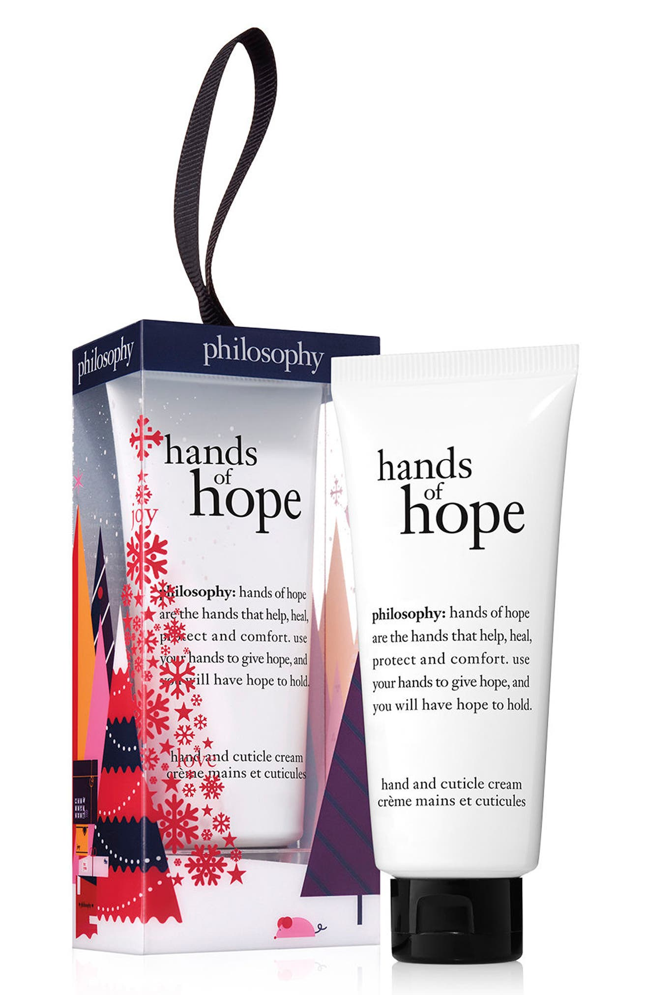 hands of hope hand & cuticle cream ornament,                             Main thumbnail 1, color,                             No Color