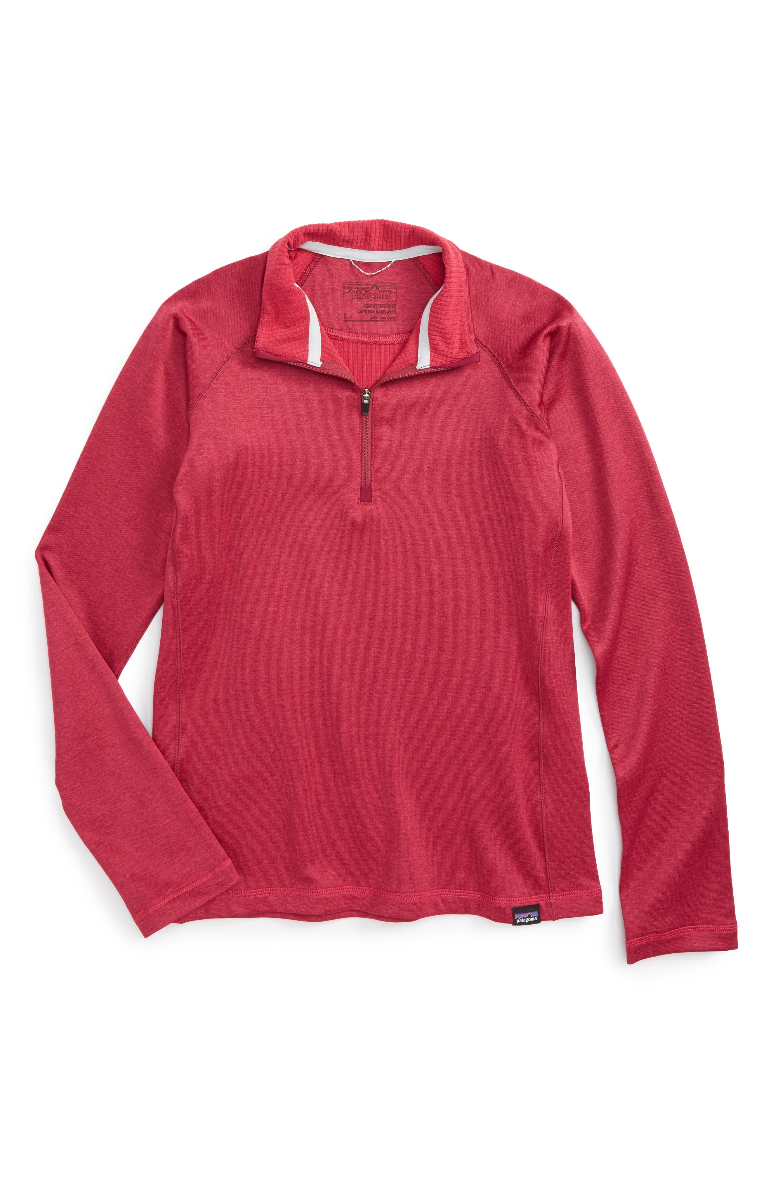 Capilene<sup>®</sup> Heavyweight Base Layer Pullover,                         Main,                         color, Craft Pink