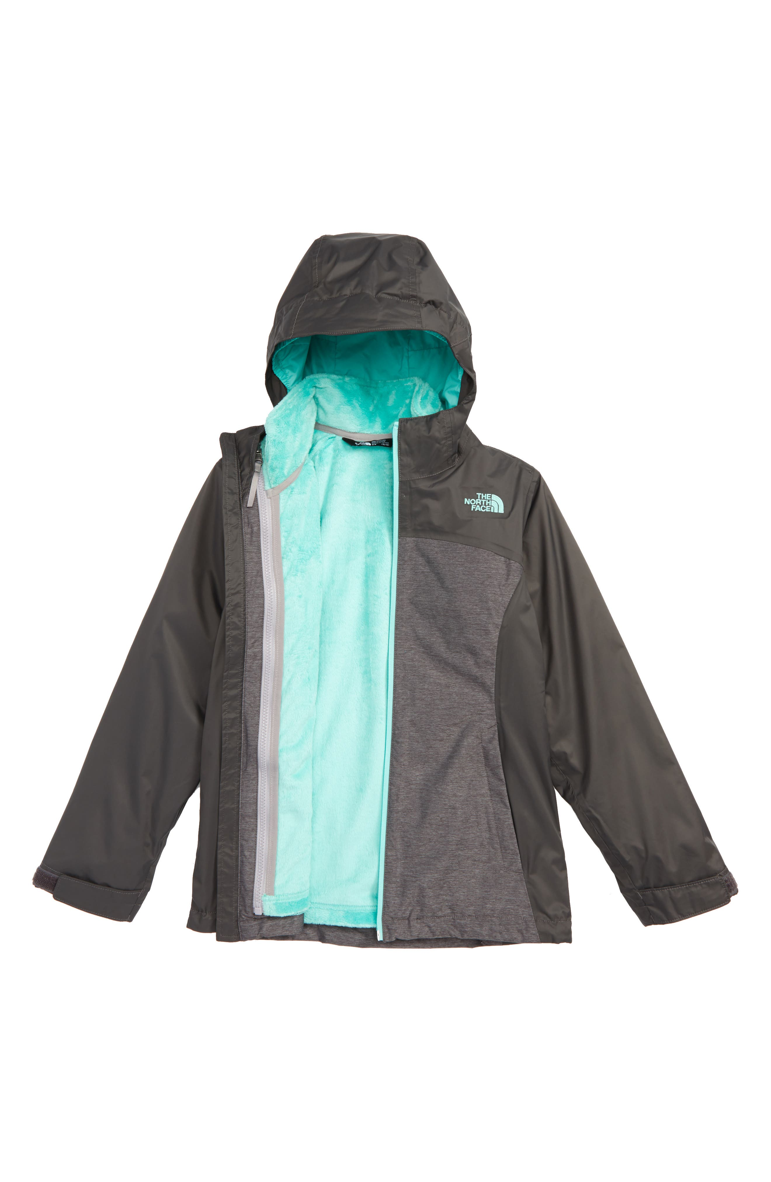 Osolita TriClimate<sup>®</sup> Waterproof 3-in-1 Jacket,                             Main thumbnail 1, color,                             Graphite Grey