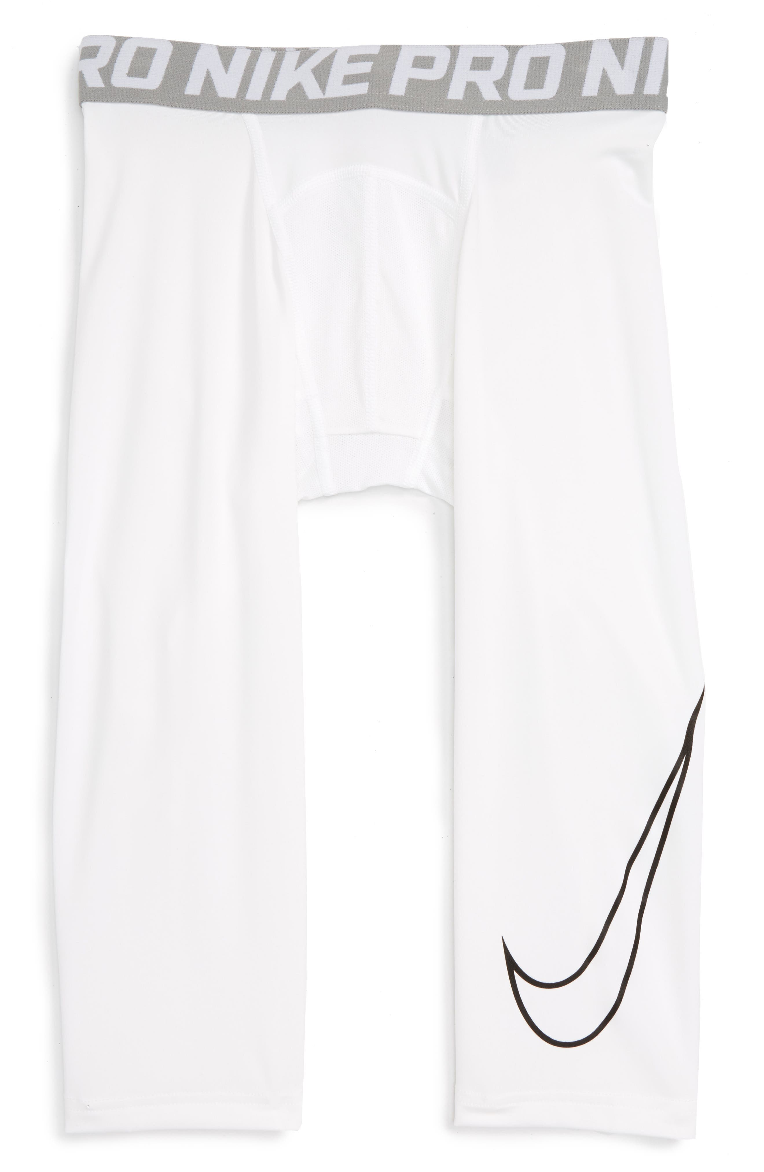 Alternate Image 1 Selected - Nike Pro Hypercool Compression Tights (Little Boys & Big Boys)