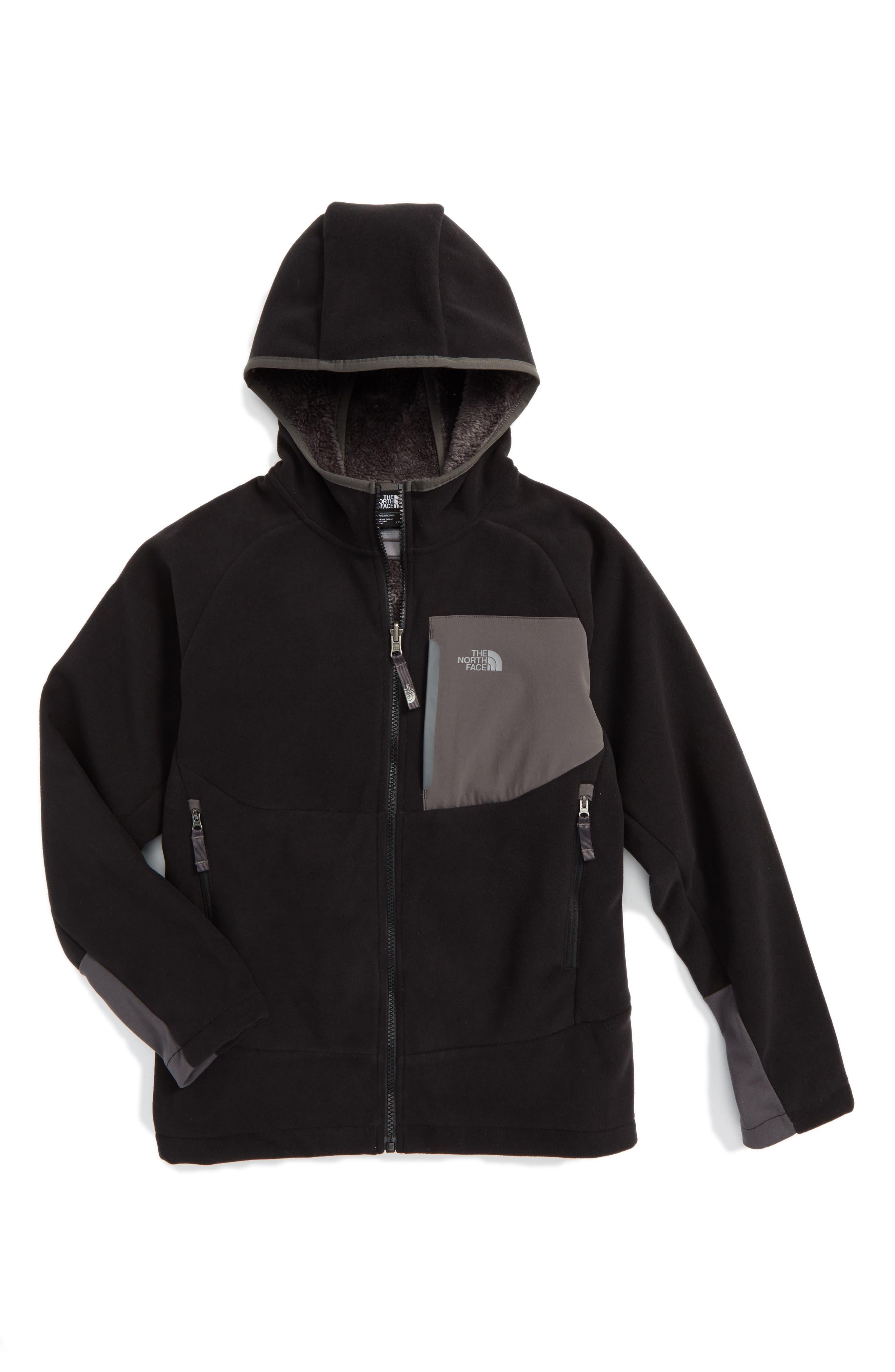 'Chimborazo' Hoodie,                         Main,                         color, Tnf Black