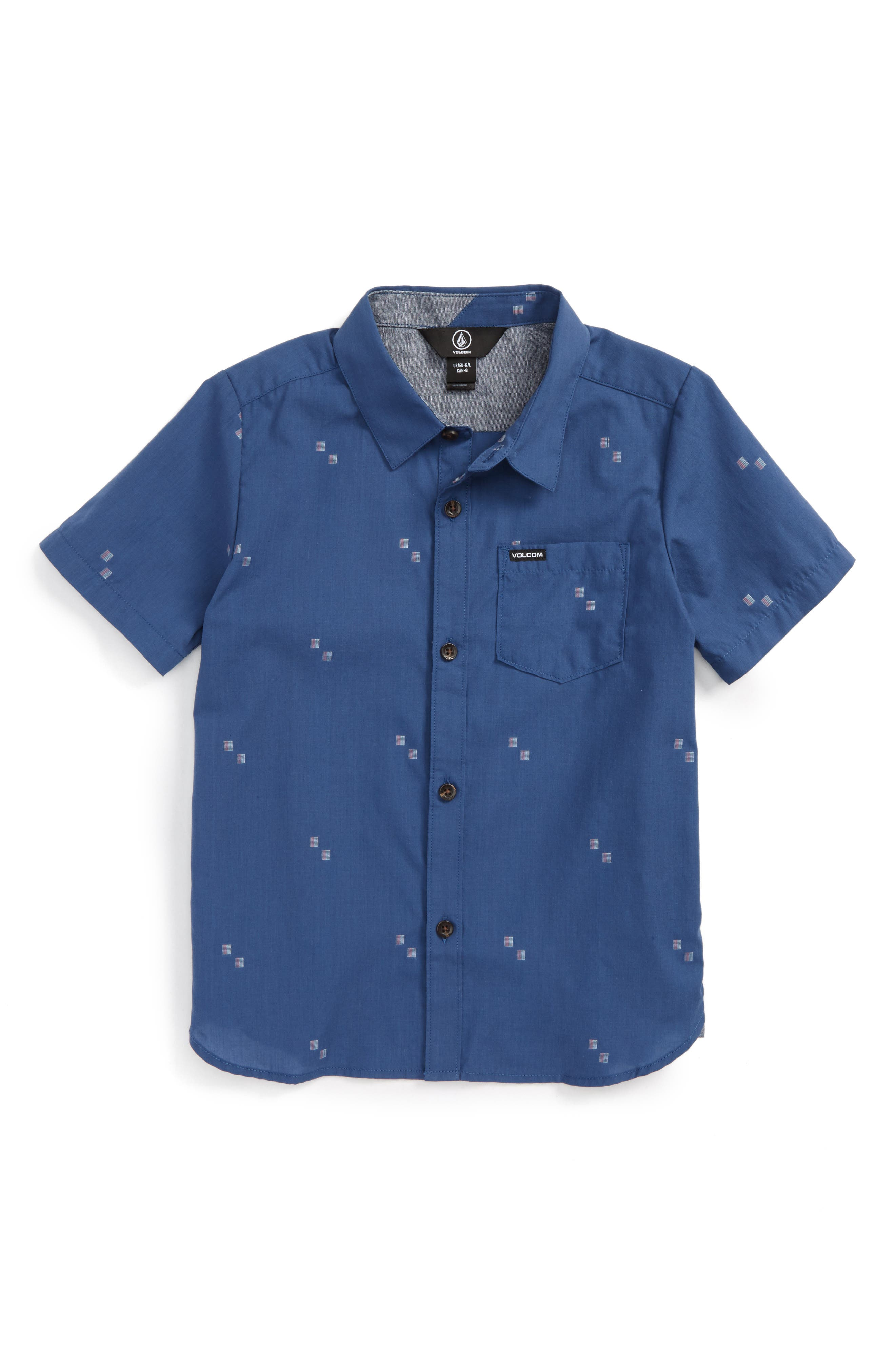 Volcom Floyd Woven Shirt (Toddler Boys & Little Boys)