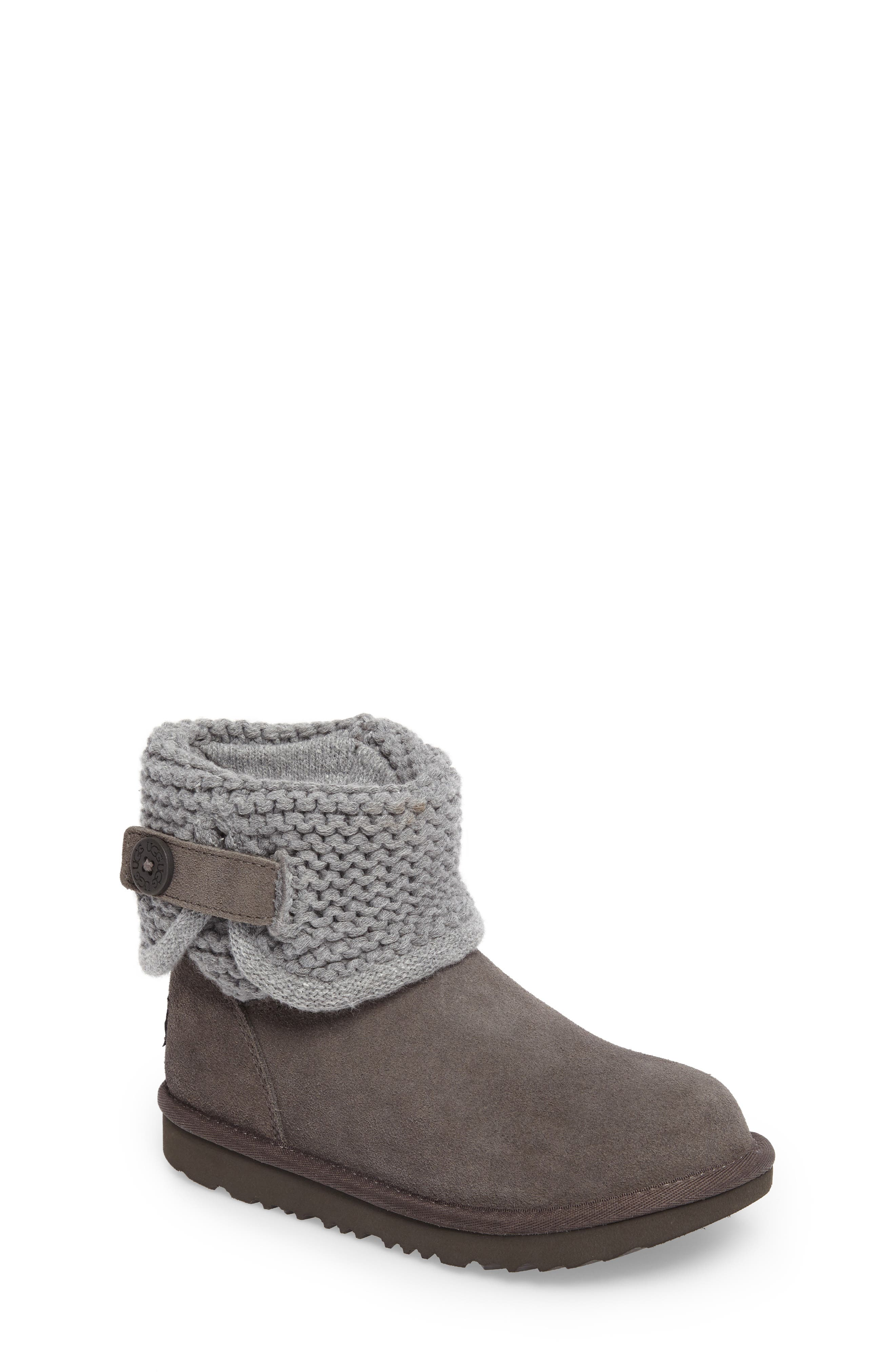 UGG® Darrah II Knit Cuff Boot (Little Kid & Big Kid)