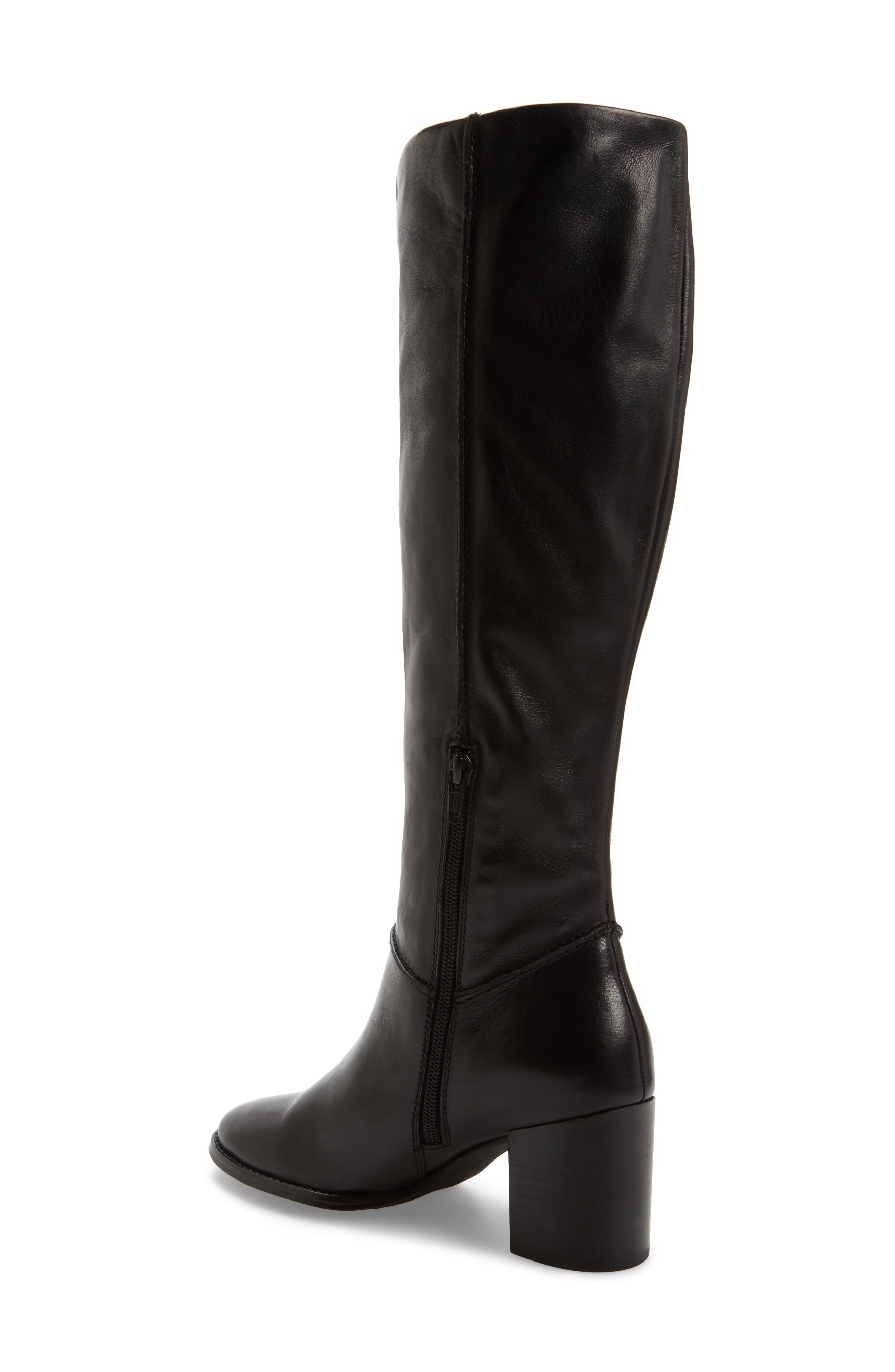 Final Bow Boot,                             Alternate thumbnail 2, color,                             Black Leather