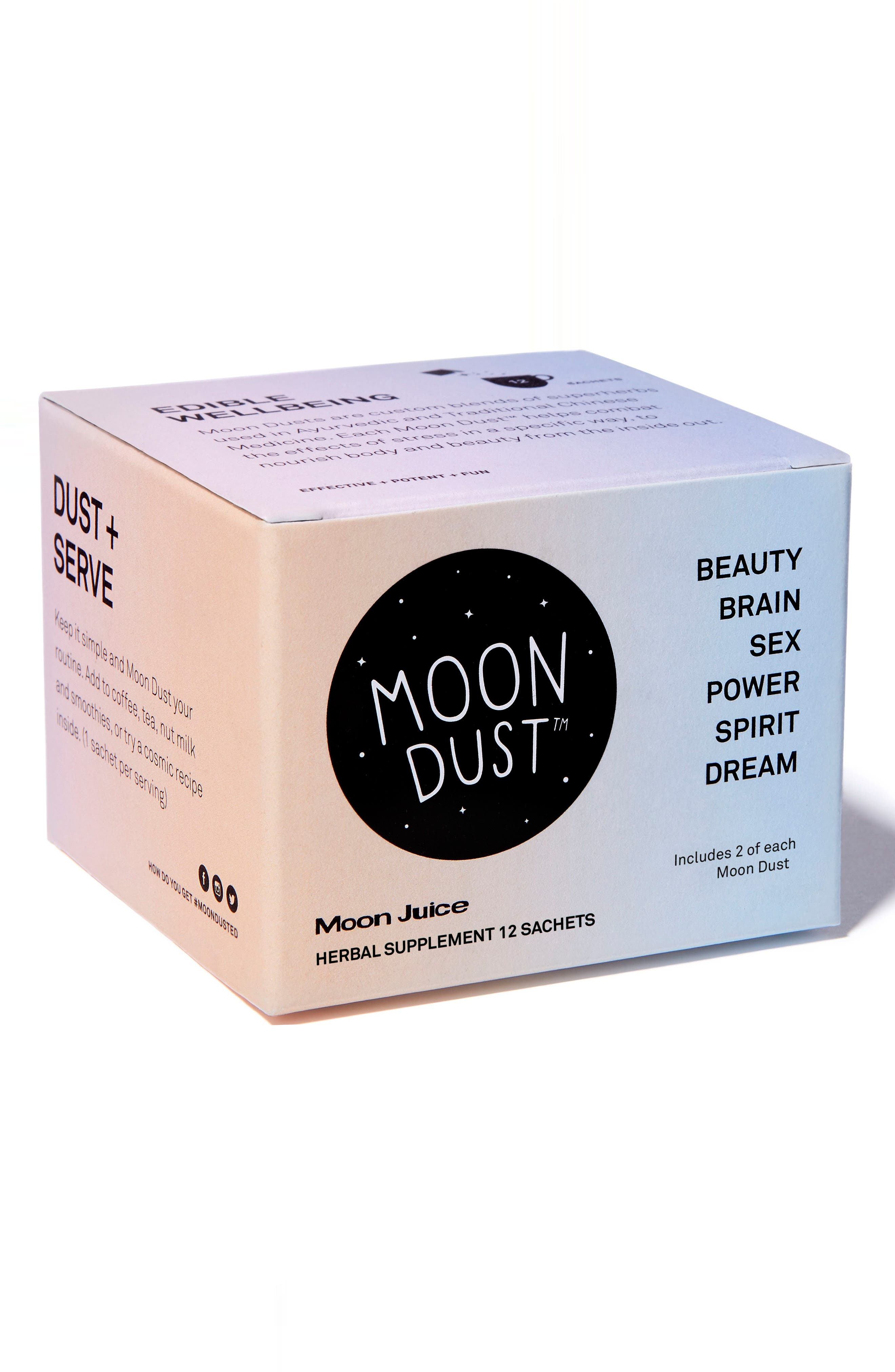 Moon Juice Full Moon Dust Sachet Box