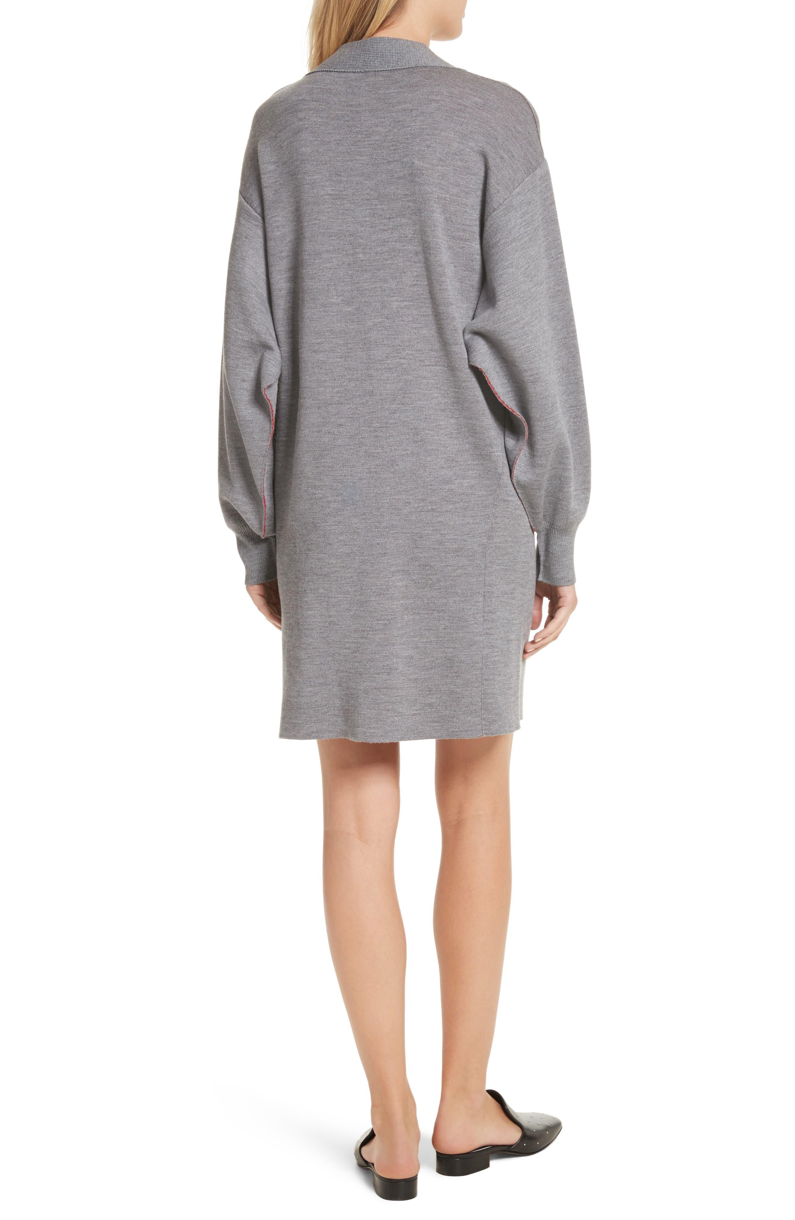 Alternate Image 2  - rag & bone Saralyn Merino Wool Blend Sweater Dress