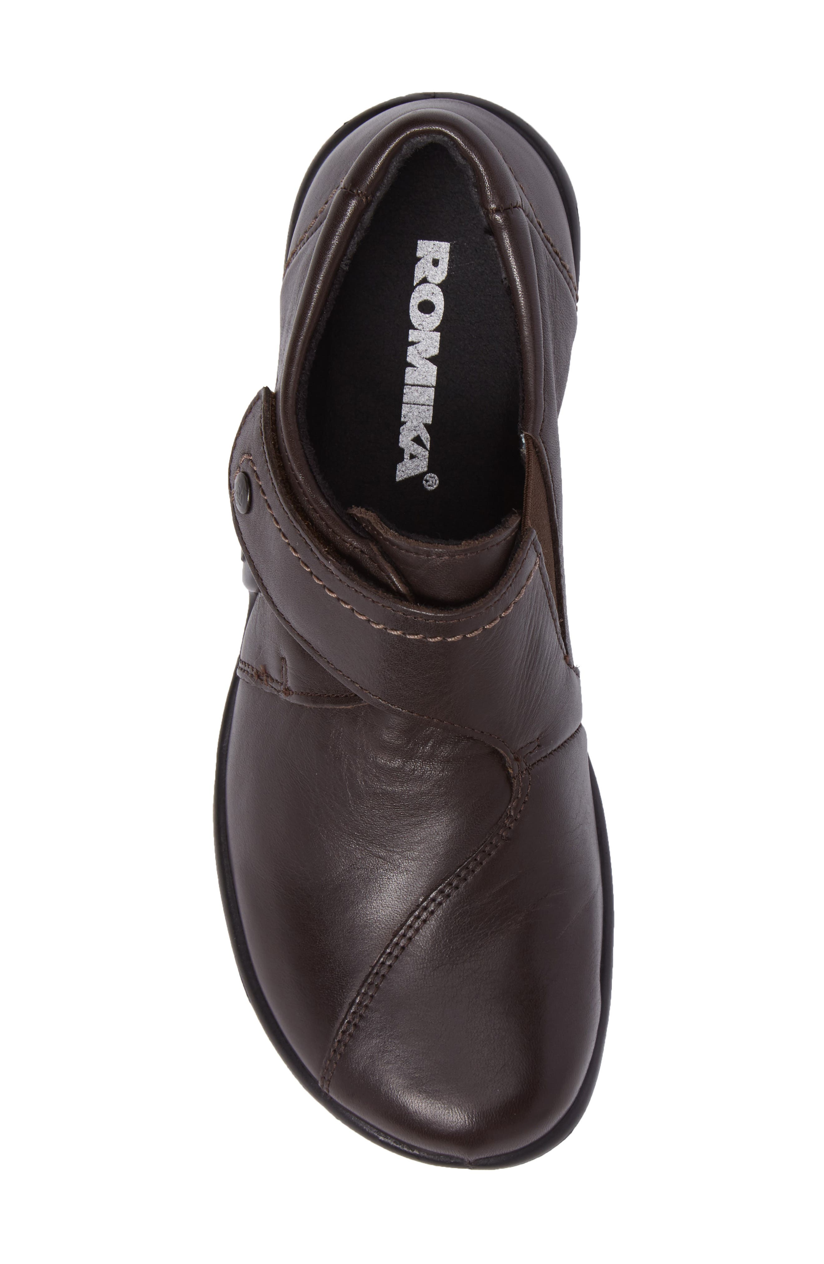 'Maddy 04' Slip-On Flat,                             Alternate thumbnail 5, color,                             Moro Leather