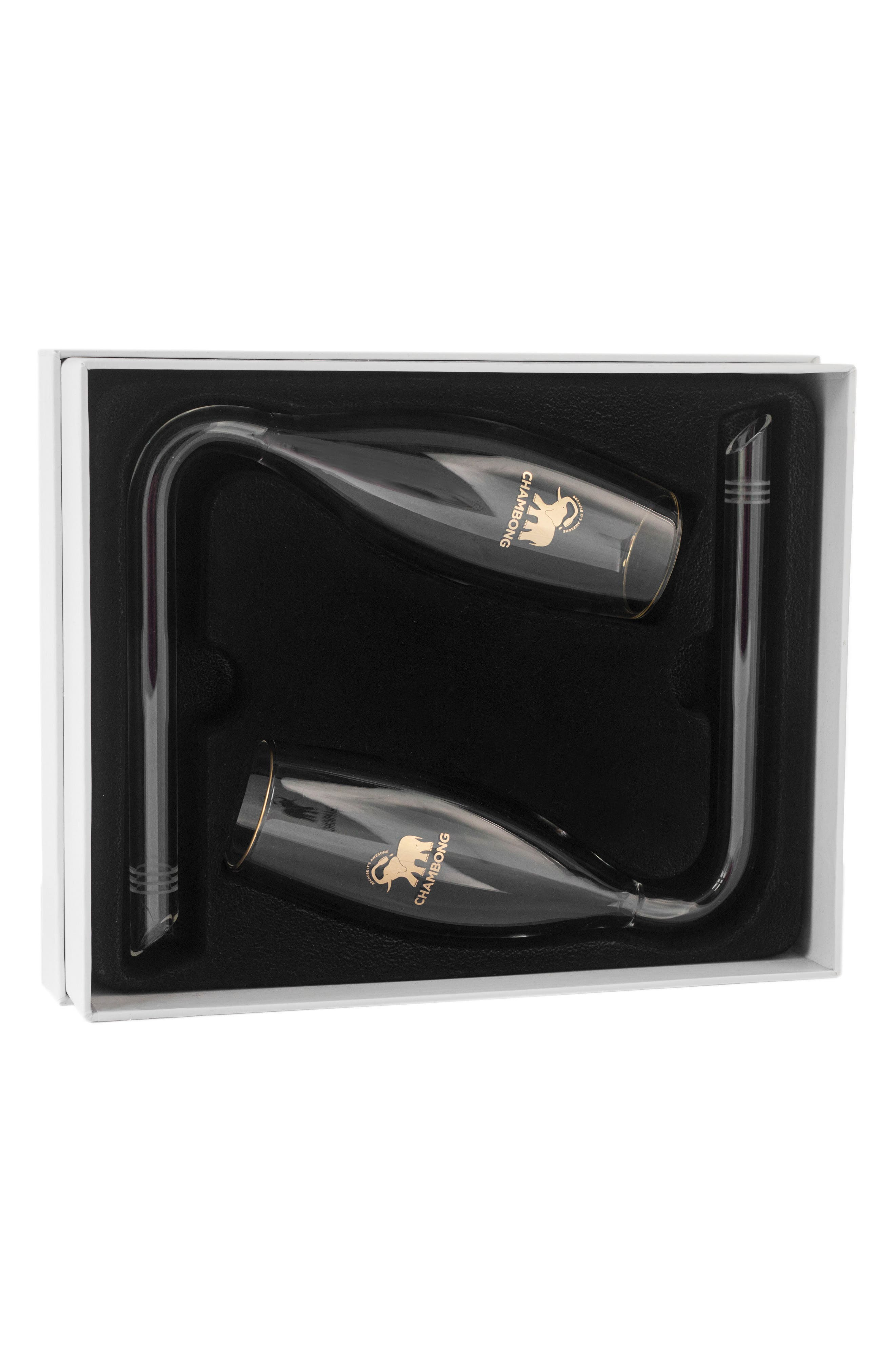 Alternate Image 4  - Chambong Set of 2 Curved Champagne Glasses