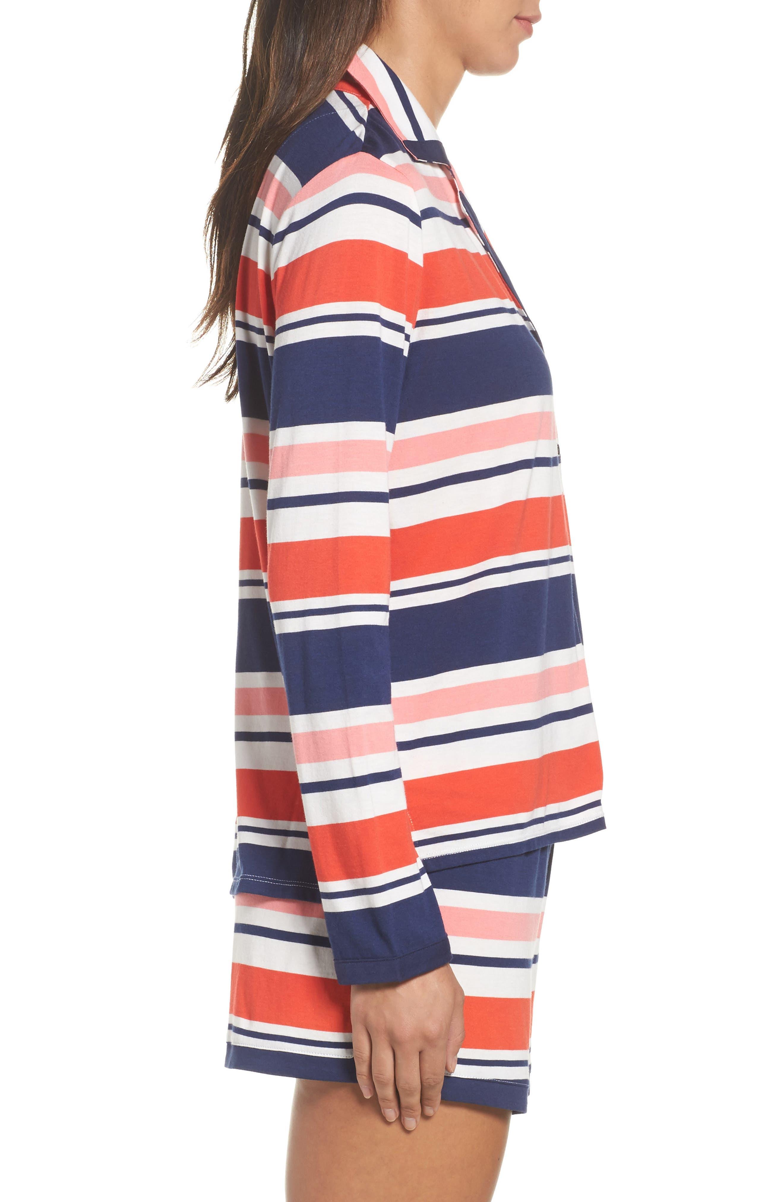 Alternate Image 3  - kate spade new york short pajamas