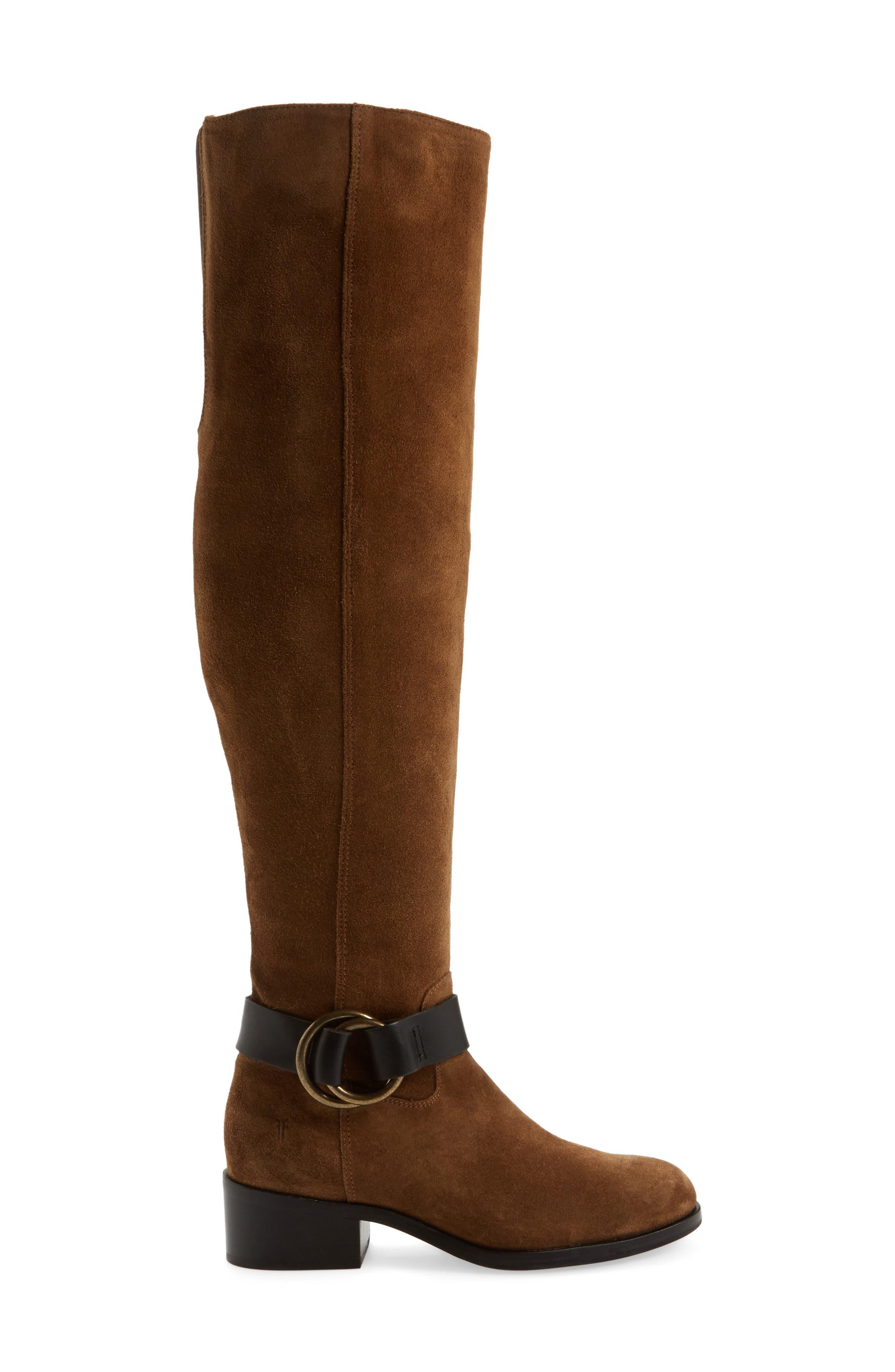 Alternate Image 3  - Frye Kristen Harness Over the Knee Boot (Women)